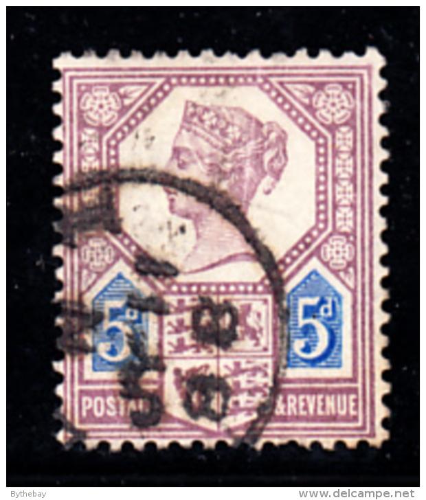 Great Britain Used #118a 5p Victoria Die I - 1840-1901 (Victoria)