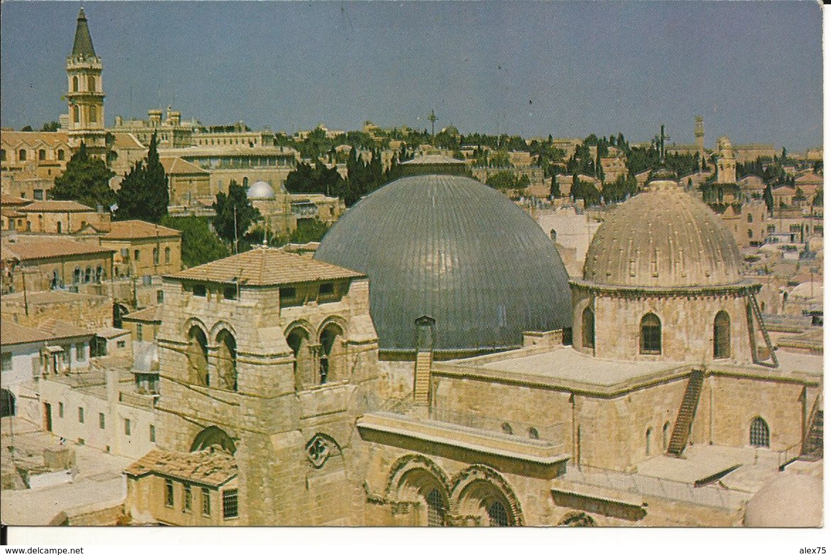 PALESTINE - ISRAEL - JÉRUSALEM - The Church Of Holy Sepulcher -- - Cartes Postales