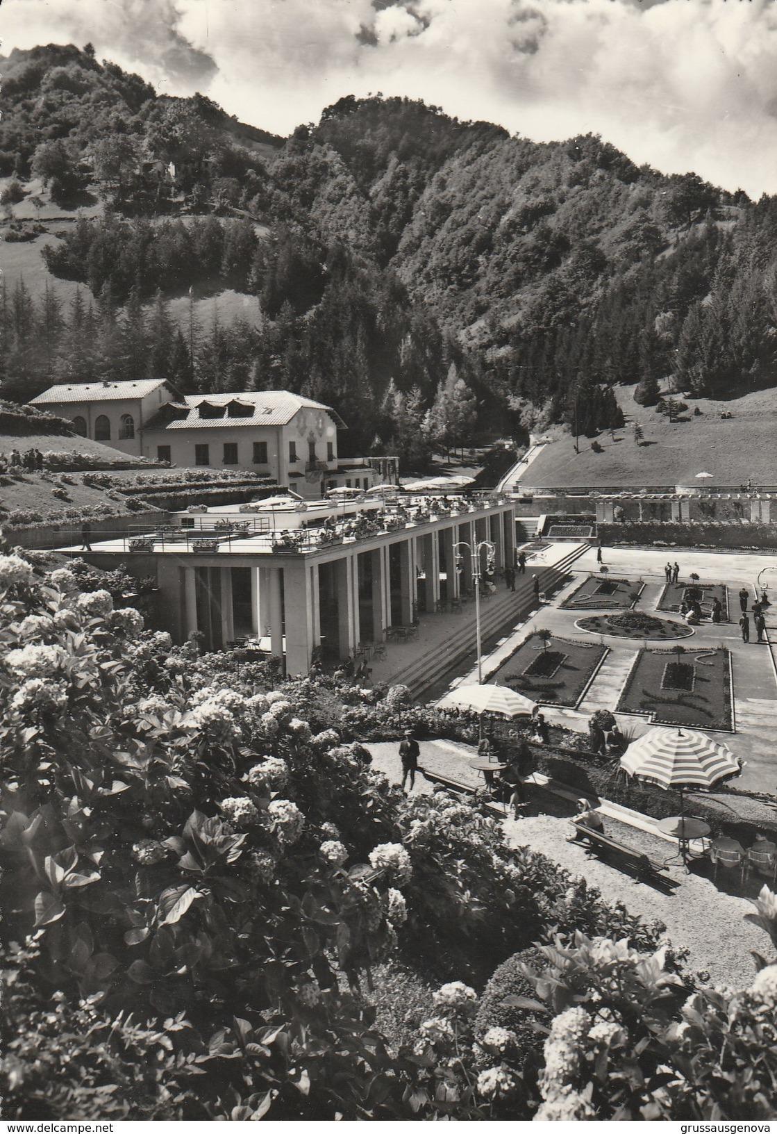 10656) RECOARO TERME FONTI CENTRALI E STABILIMENTO IDROTERAPICO VIAGGIATA 1958 - Vicenza
