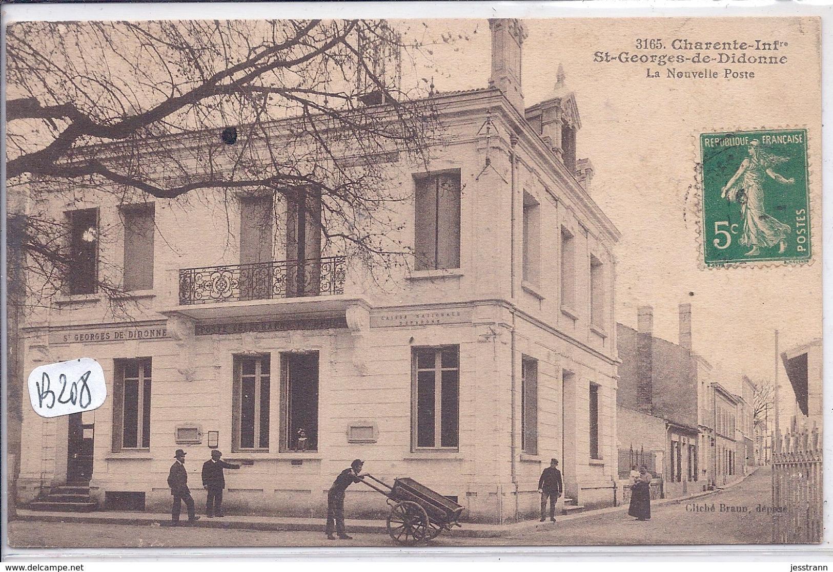 SAINT-GEORGES-DE-DIDONNE-- LA NOUVELLE POSTE - Saint-Georges-de-Didonne