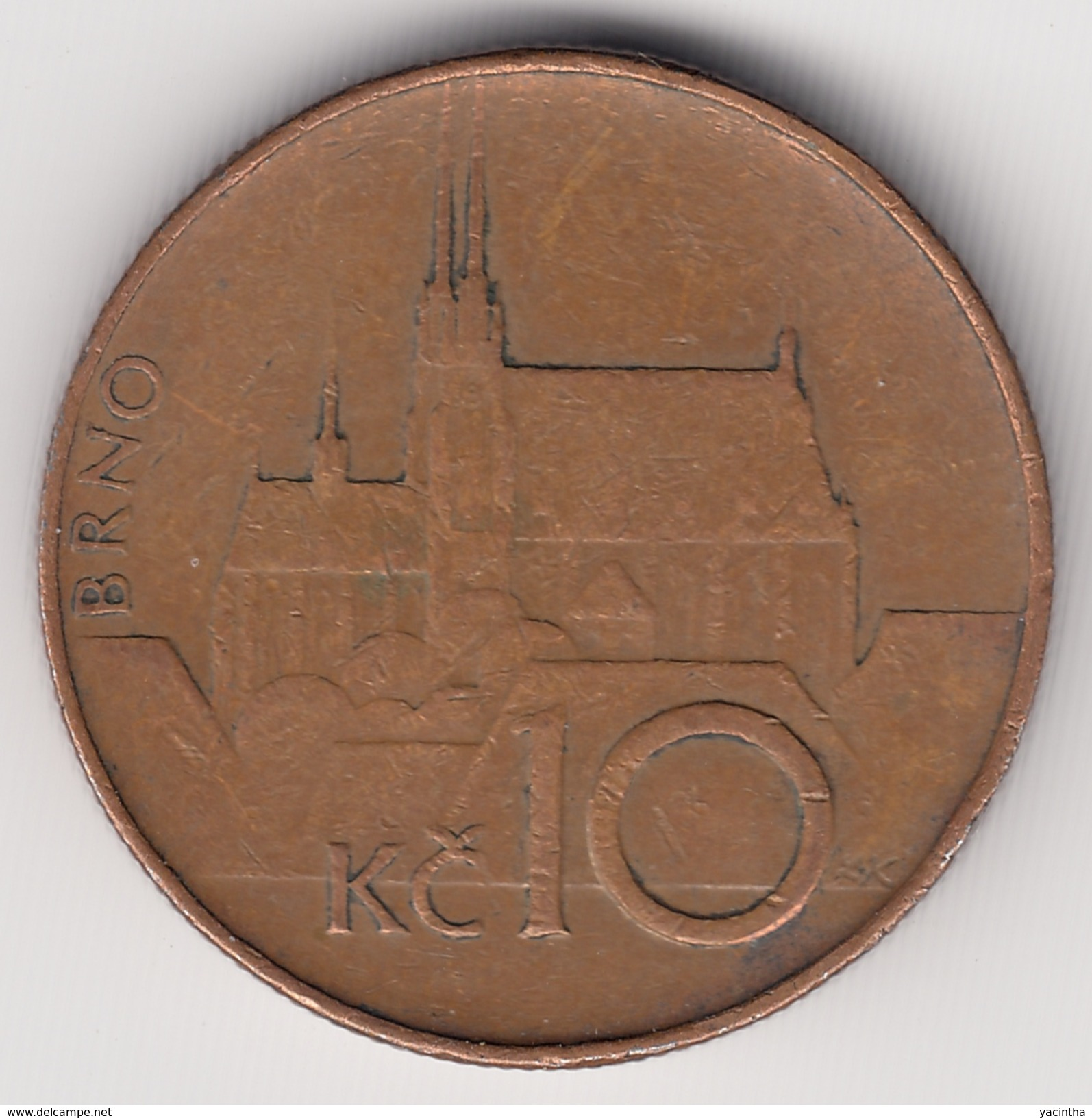 @Y@   Tsjechië   10 Korun    1993        (4898) - Repubblica Ceca