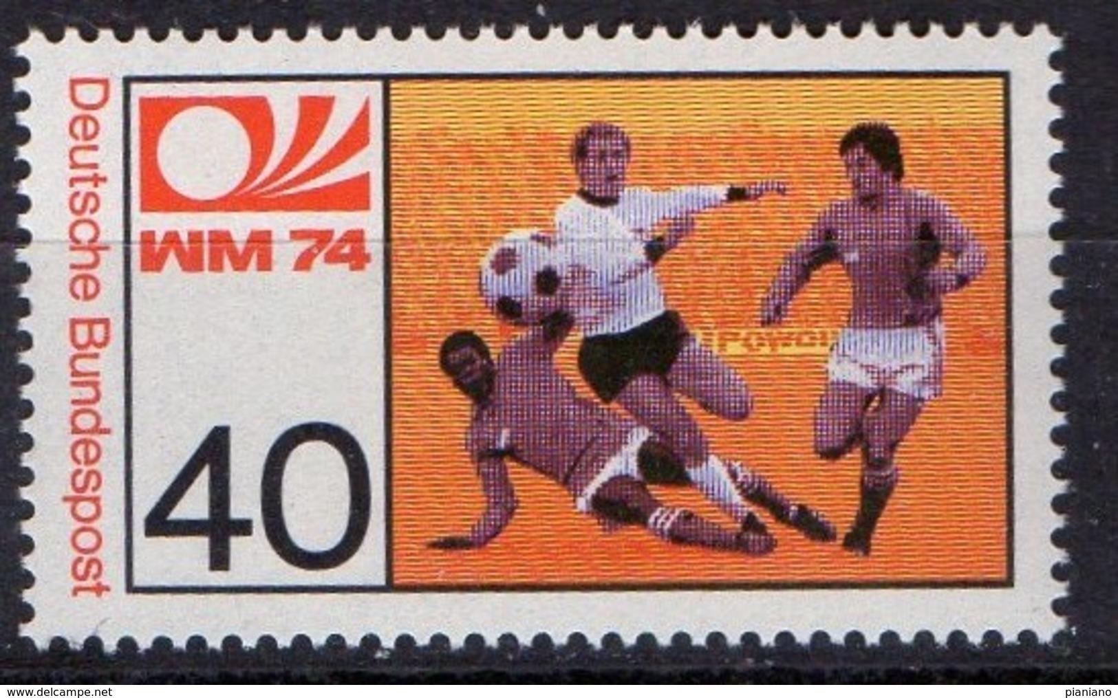 PIA - GERMANIA  - 1974  :  Campionati Del Mondo Di Calcio -  (Yv  657-58) - Coppa Del Mondo