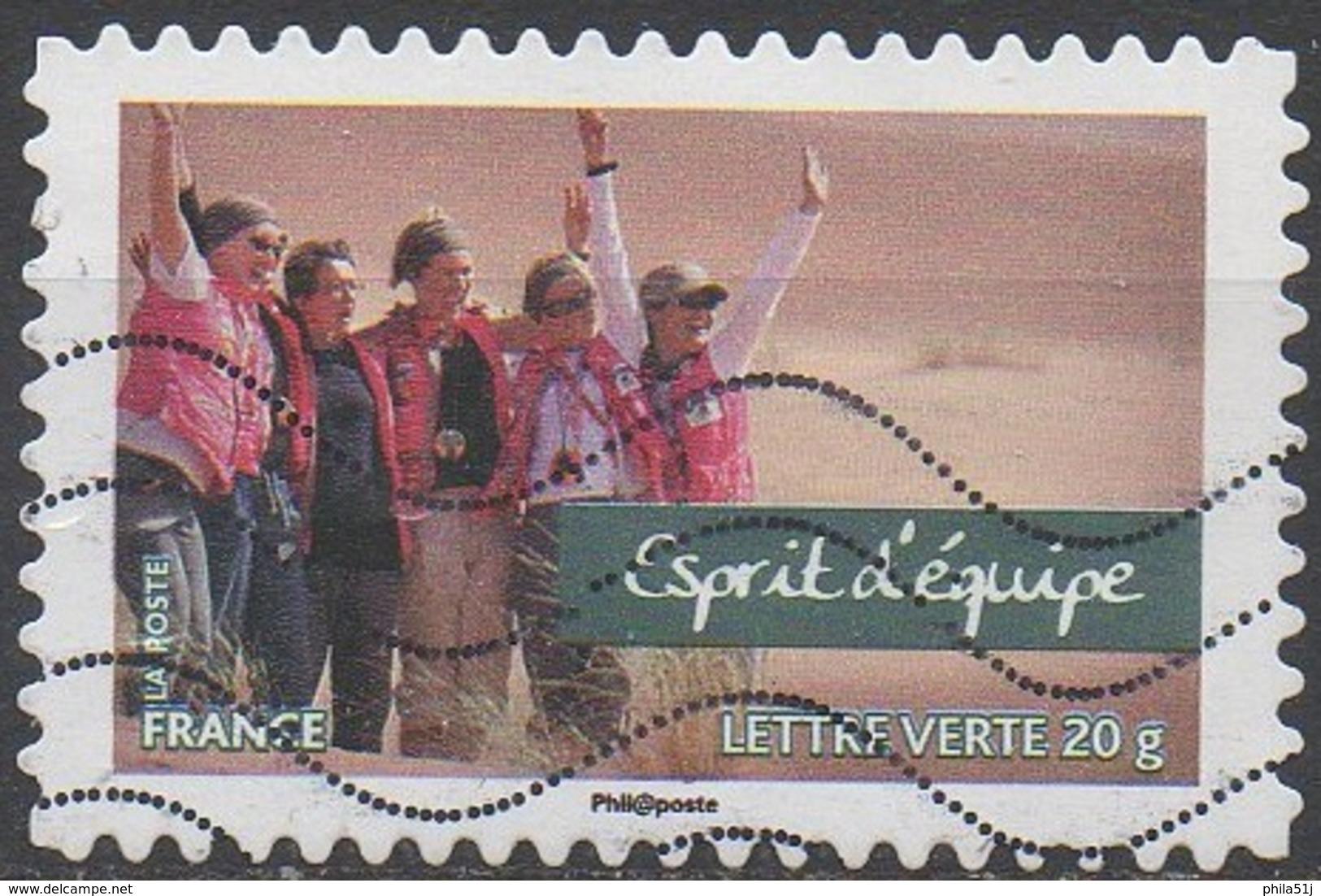 FRANCE  N°807__OBL VOIR SCAN - Francia