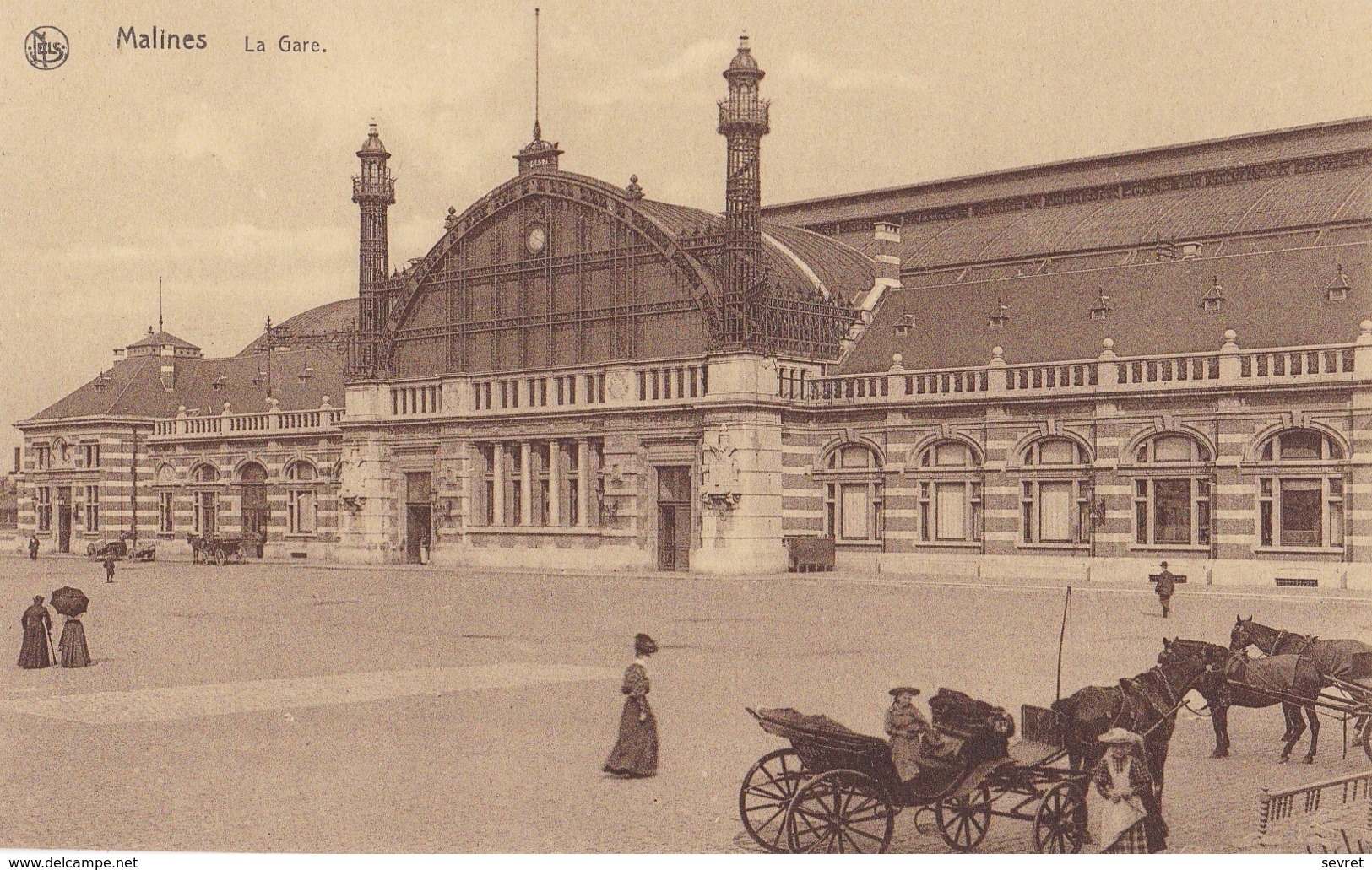 MALINES  -  La Gare - Malines