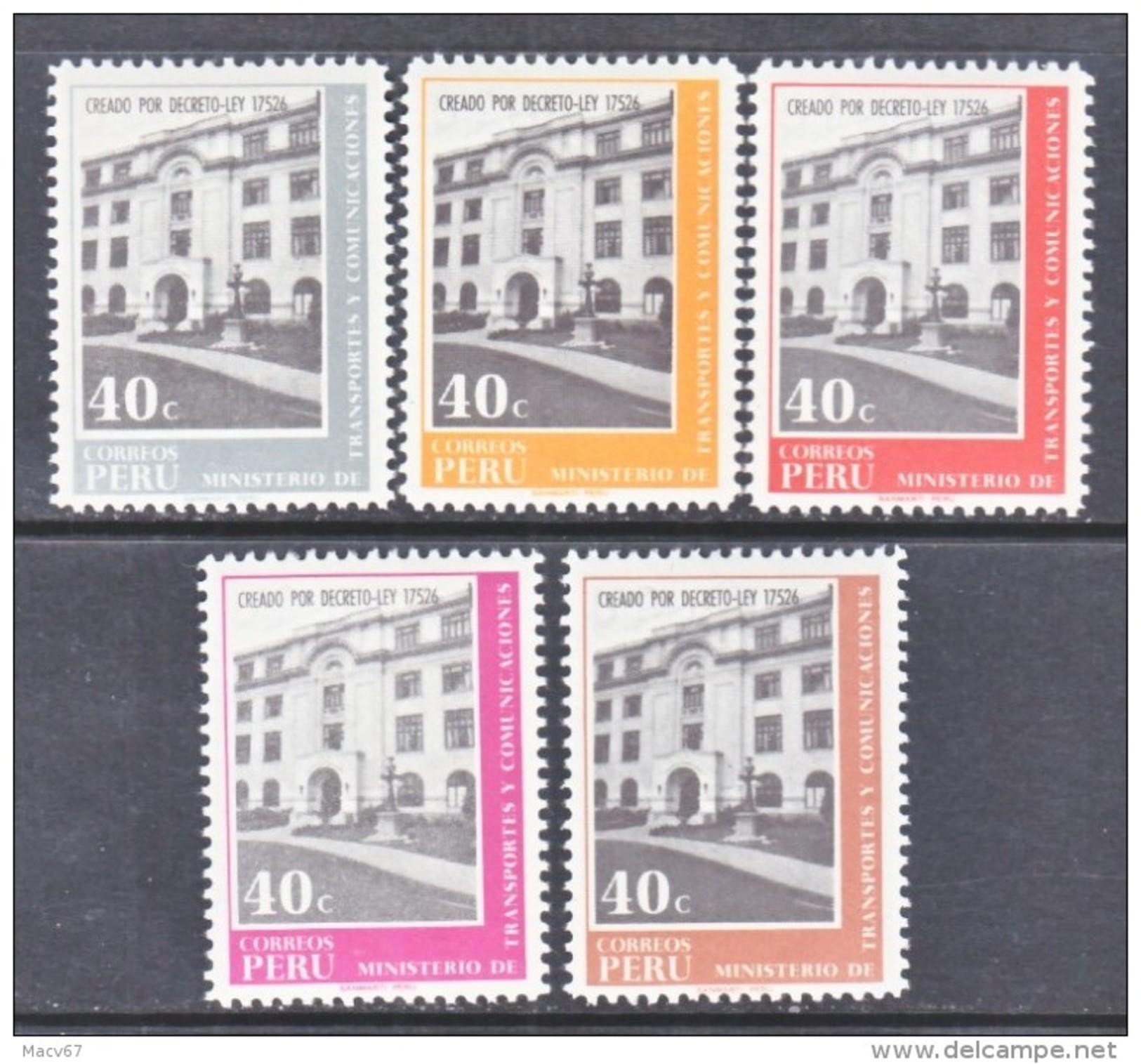 PERU  527-31    ** - Peru