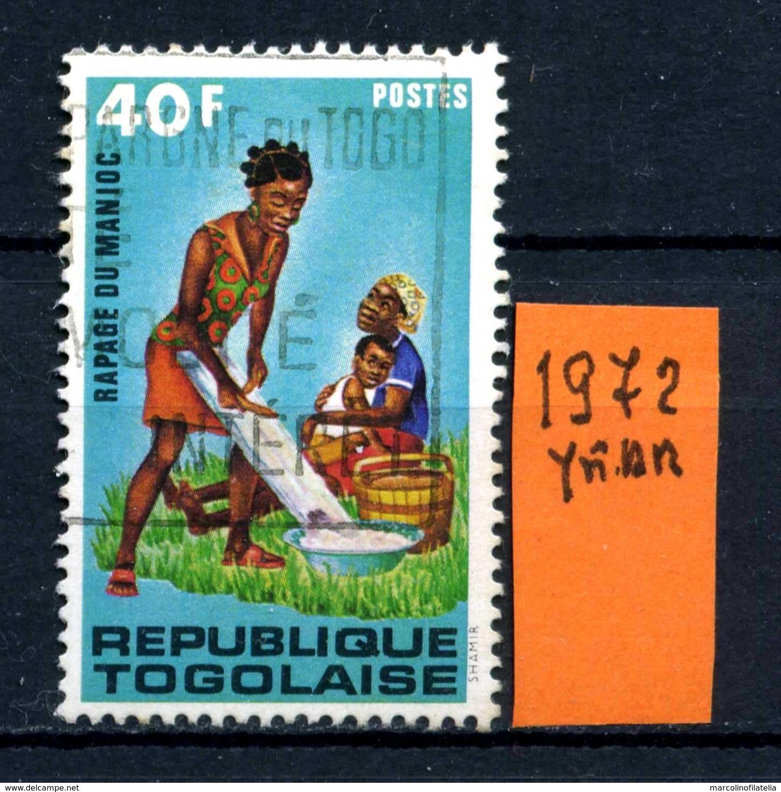 Repubblica Del TOGO - Year 1972  -usato - Used. - Togo (1960-...)