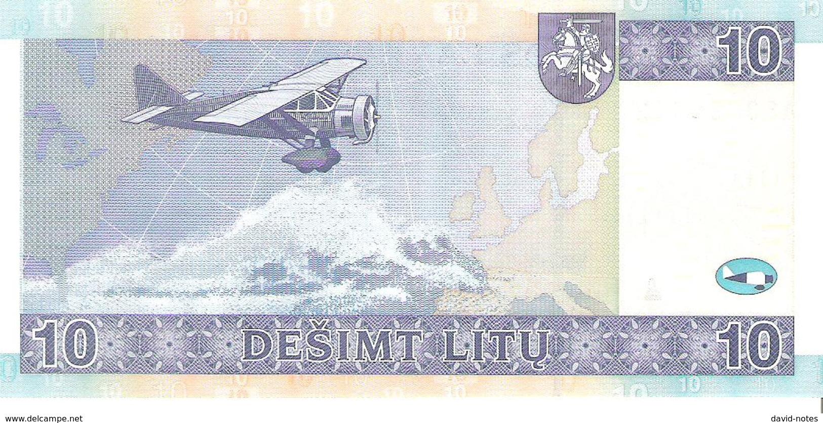 Lithuania - Pick 68 - 10 Litu 2007 - Unc - Lituanie