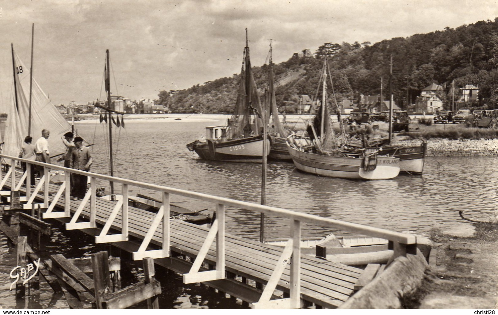 DPT 14 DIVES-CABOURG Le Port - Dives