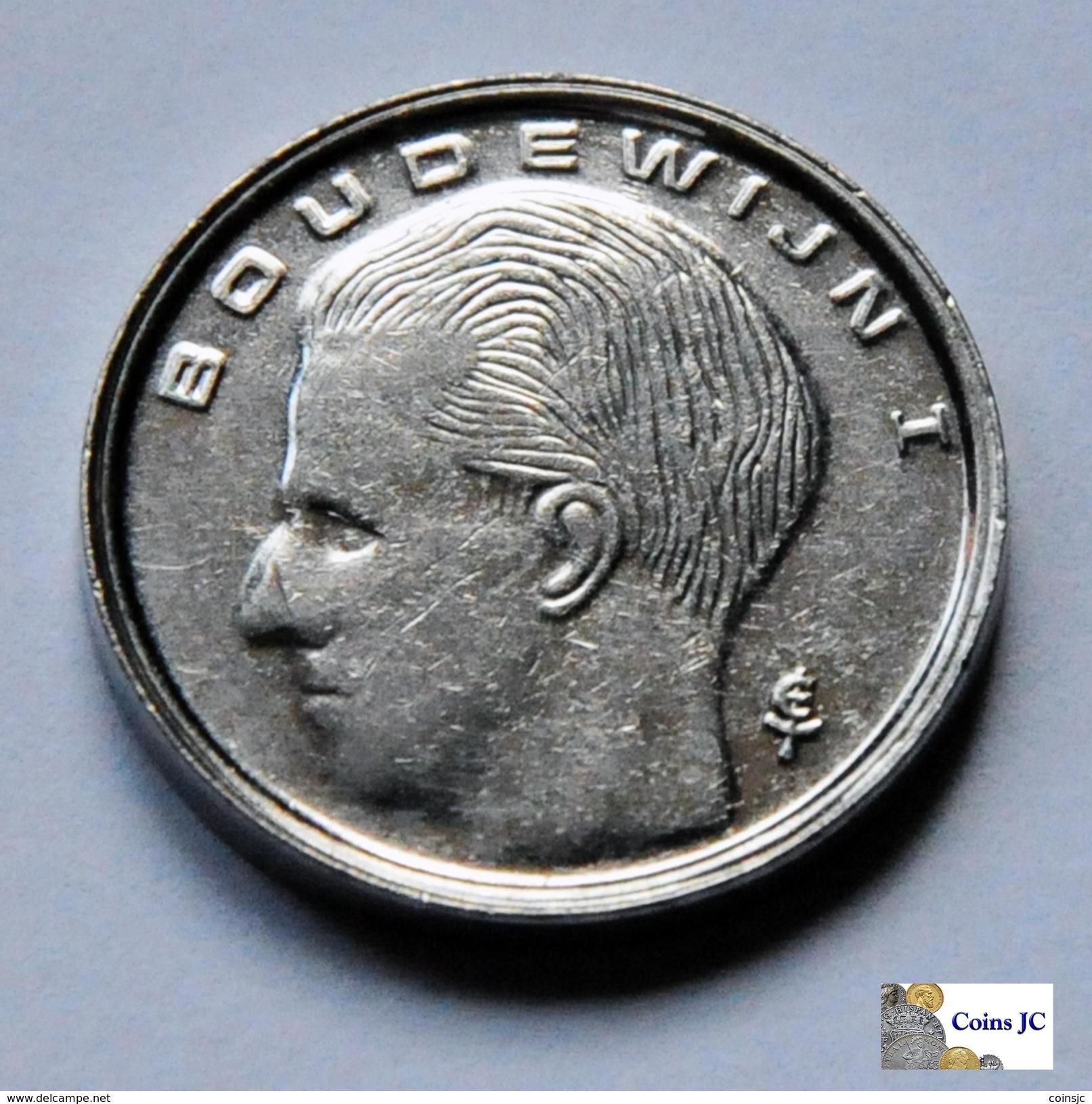 Bélgica - 1 Franc - 1989 - 1951-1993: Baudouin I