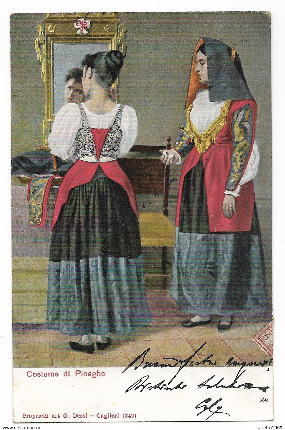 COSTUME DI PLOAGHE VIAGGIATA FP - Costumes