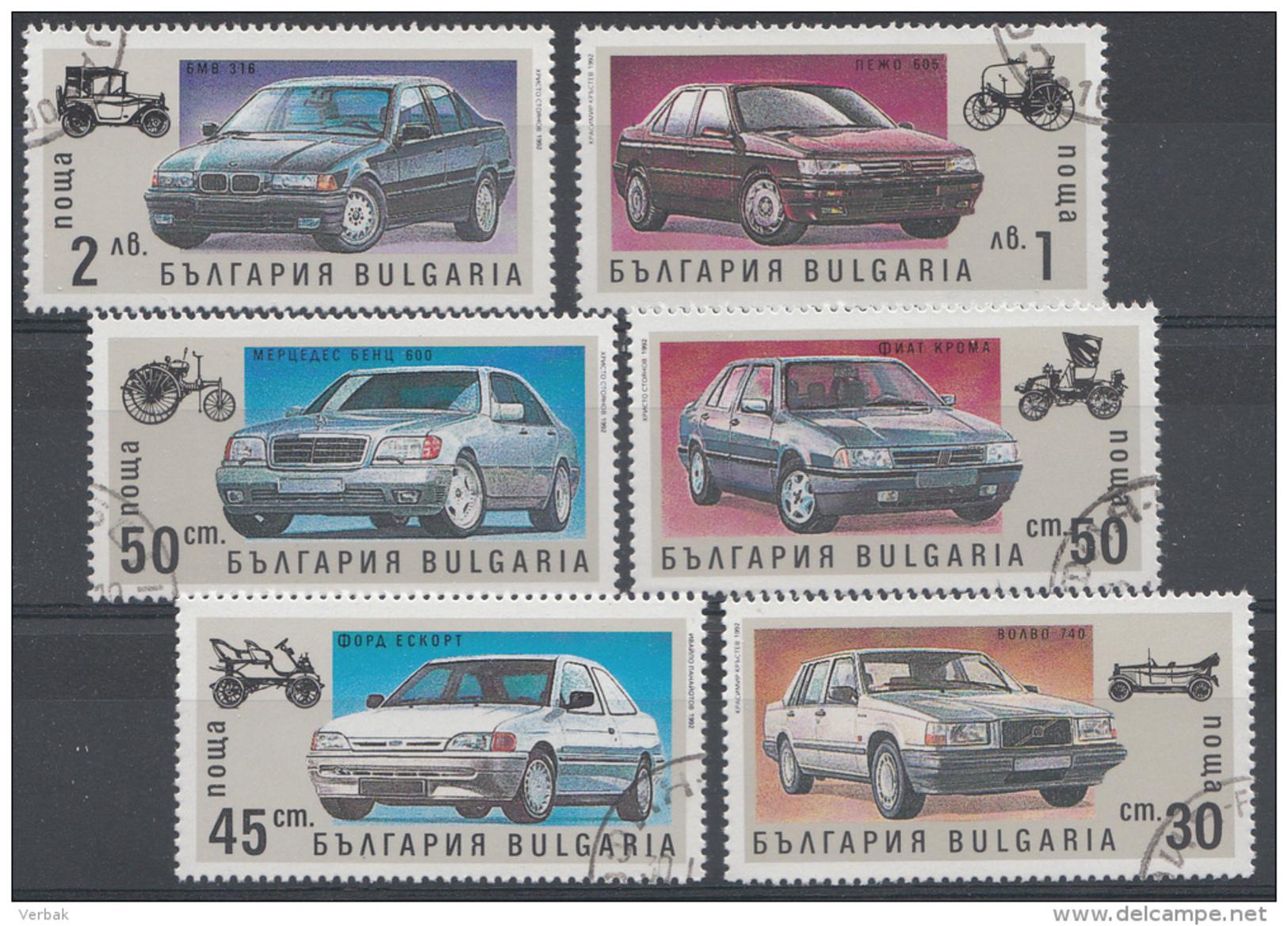 BULGARIEN / BULGARIJE MI.NR.3968-3973  USED / GEBRUIKT / OBLITERE 1992 - Usati