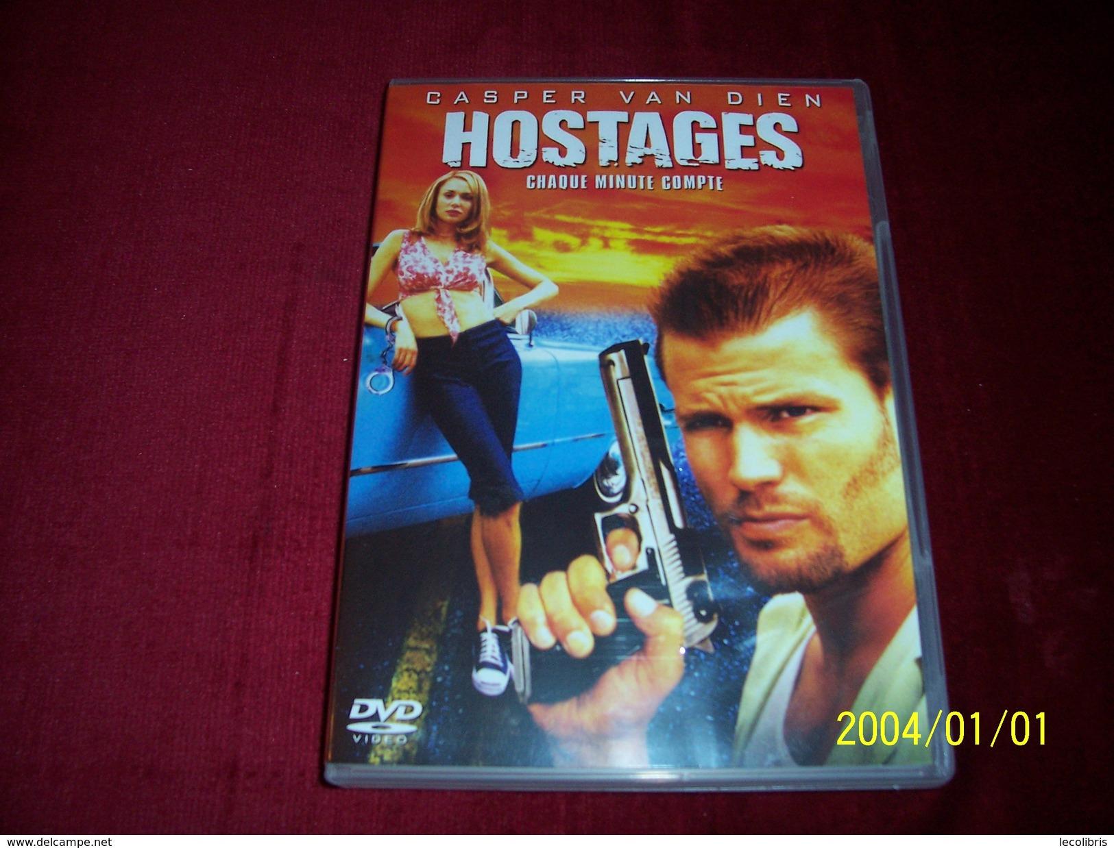 HOSTAGES  °  PROMO  5 DVD ° POUR 10 EUROS °  AUX CHOIX - Policiers