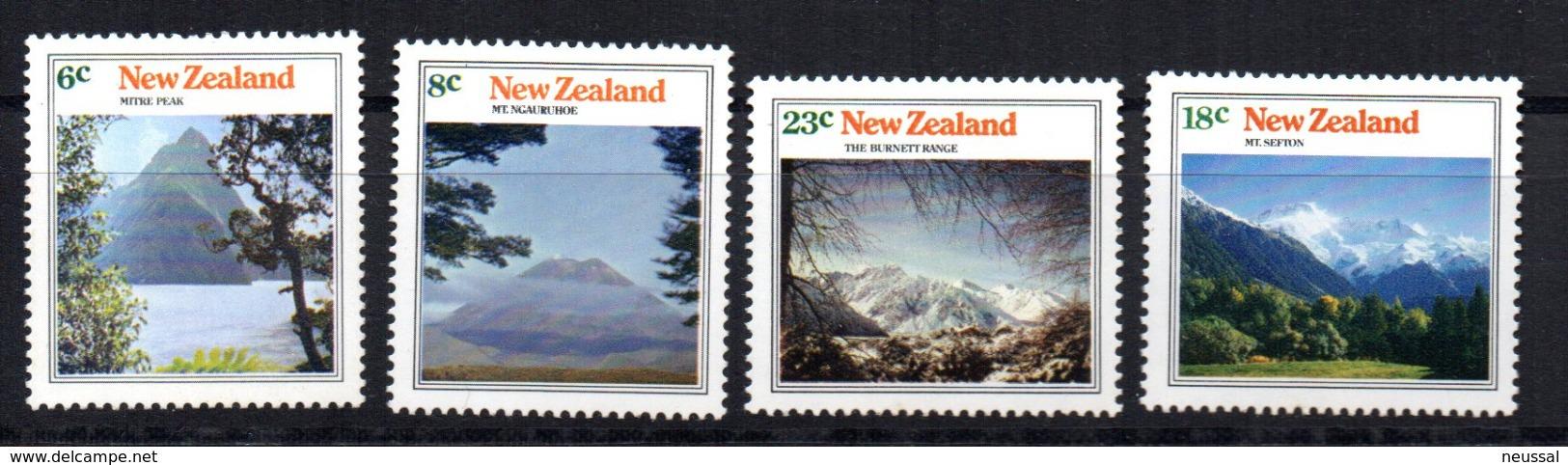 Serie Nº  599/602  New Zeland - Autres