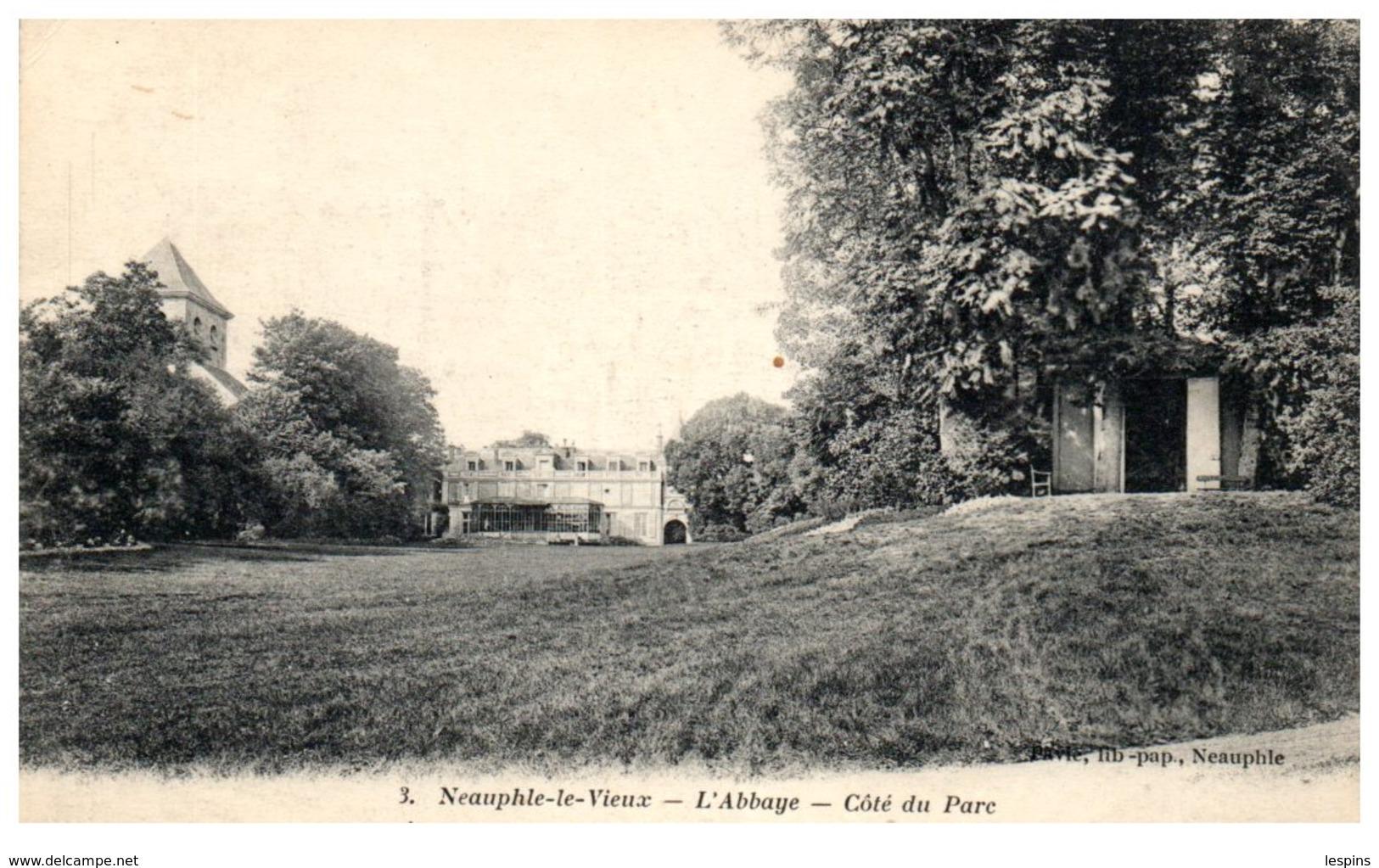 78 - NEAUPHLE Le VIEUX -- L'Abbaye - Côté Du Parc - Other Municipalities