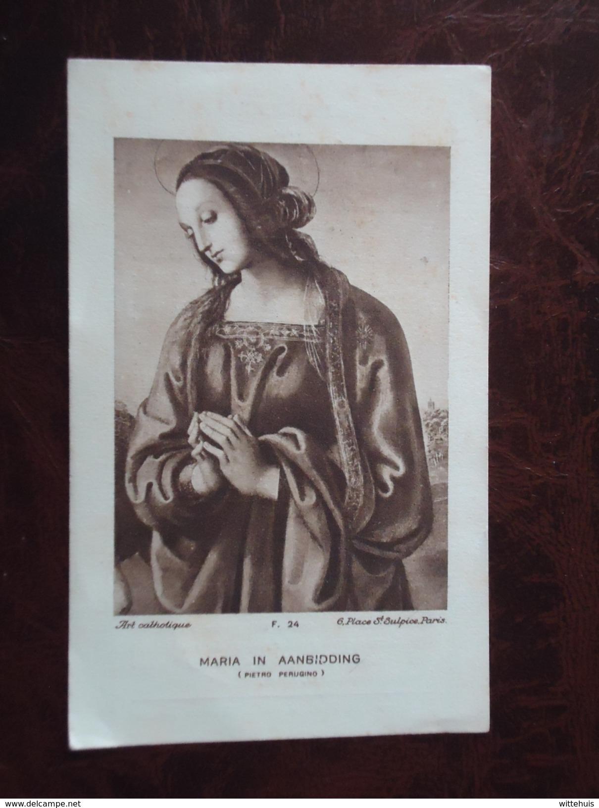 Bidprent : Heilige Barbara Parochiale Kerk Van Clemskerke Jaaroverzicht Van Overleden  1929  (2scans) - Religion & Esotérisme