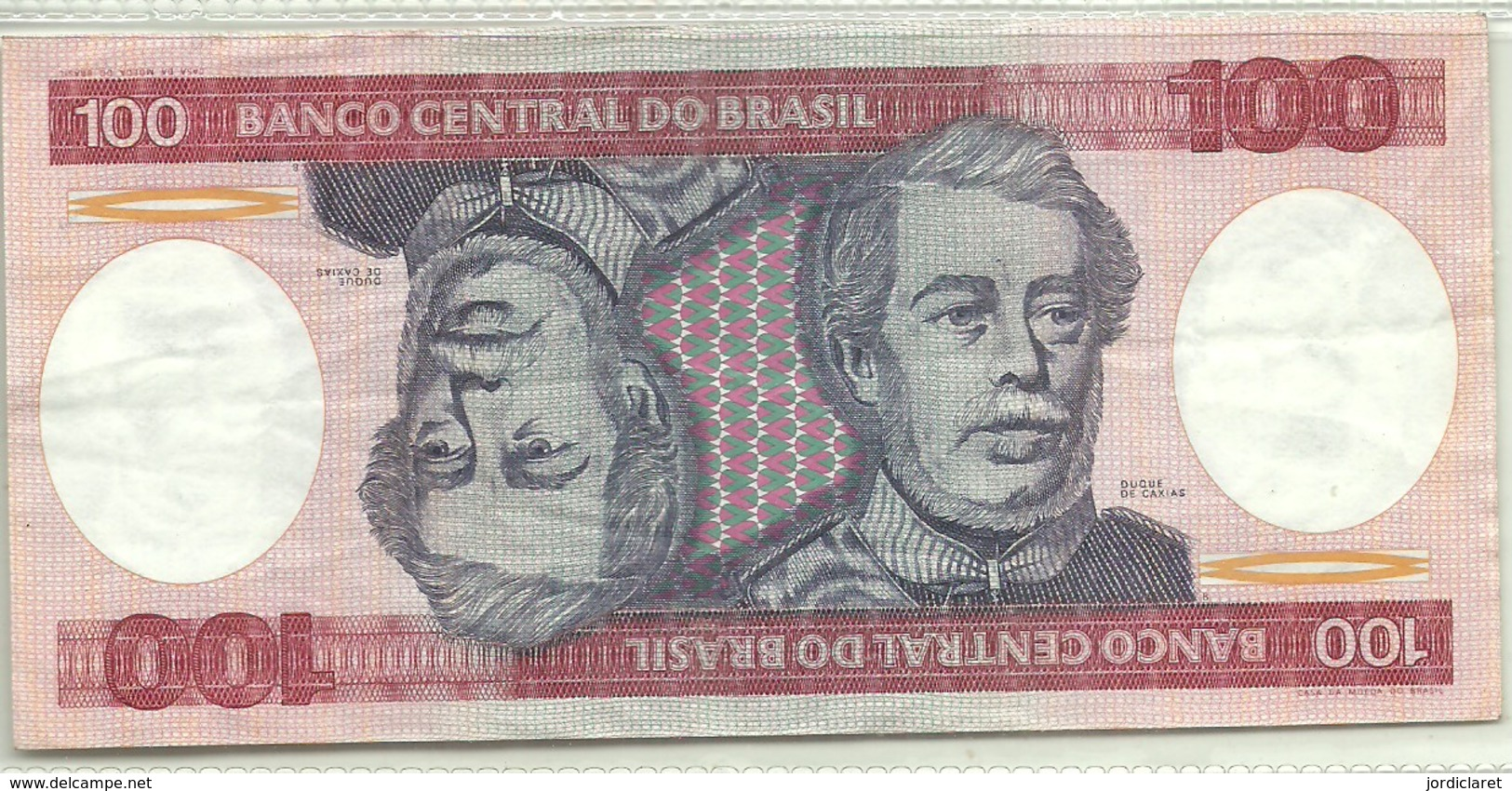 BILLETE DE 100 REALES - Brasil