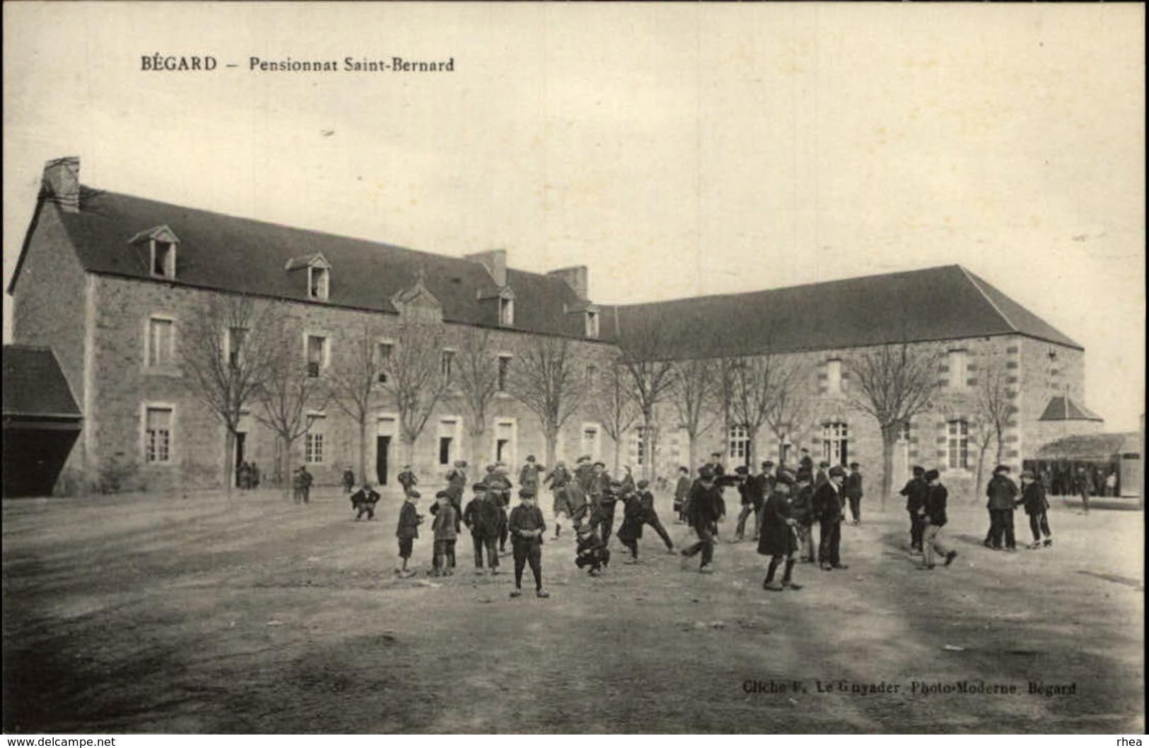 22 - BEGARD - Pensionnat Sain-Bernard - France
