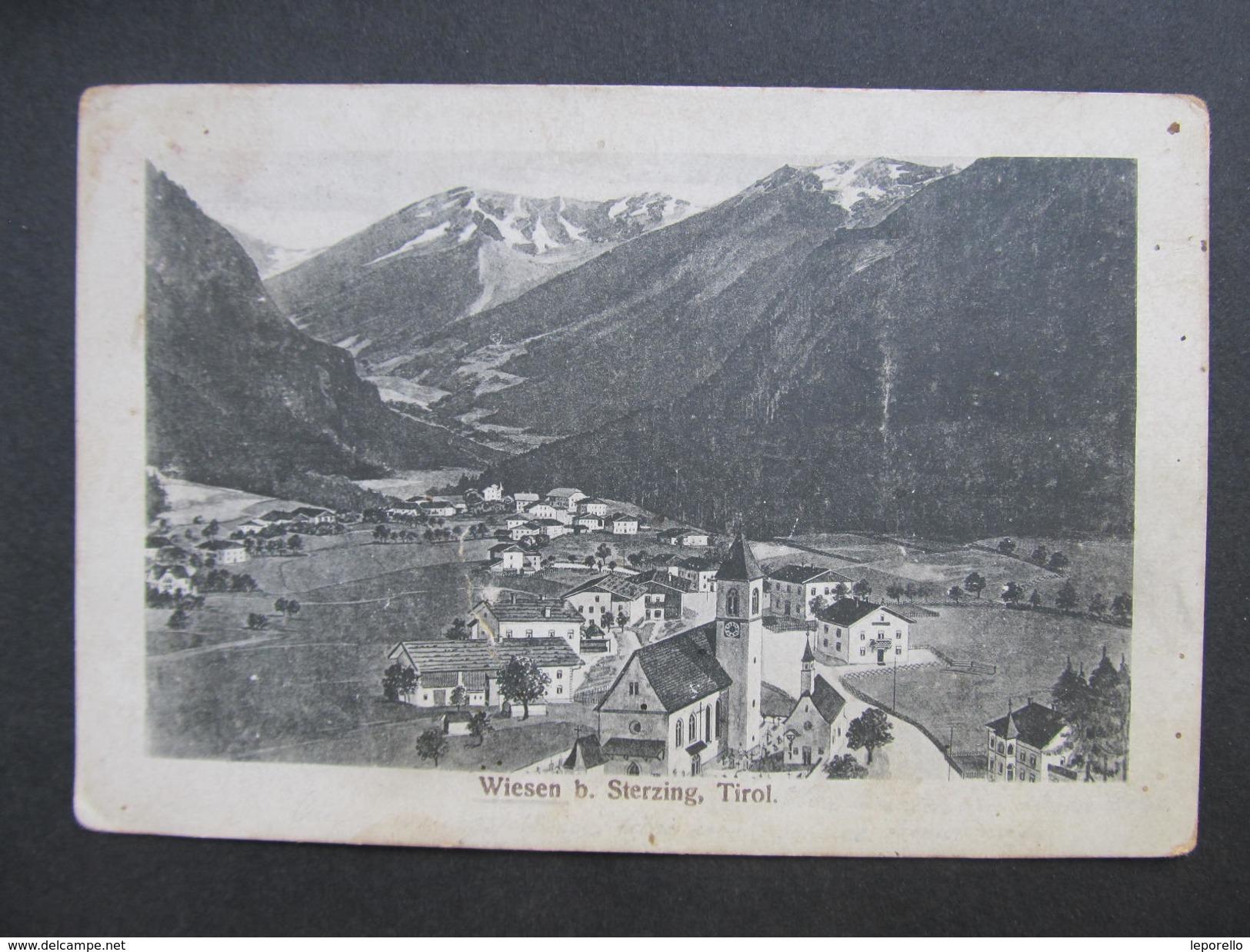AK WIESEN Bei STERZING PFITSCH Ca.1915 // D*22617 - Vipiteno