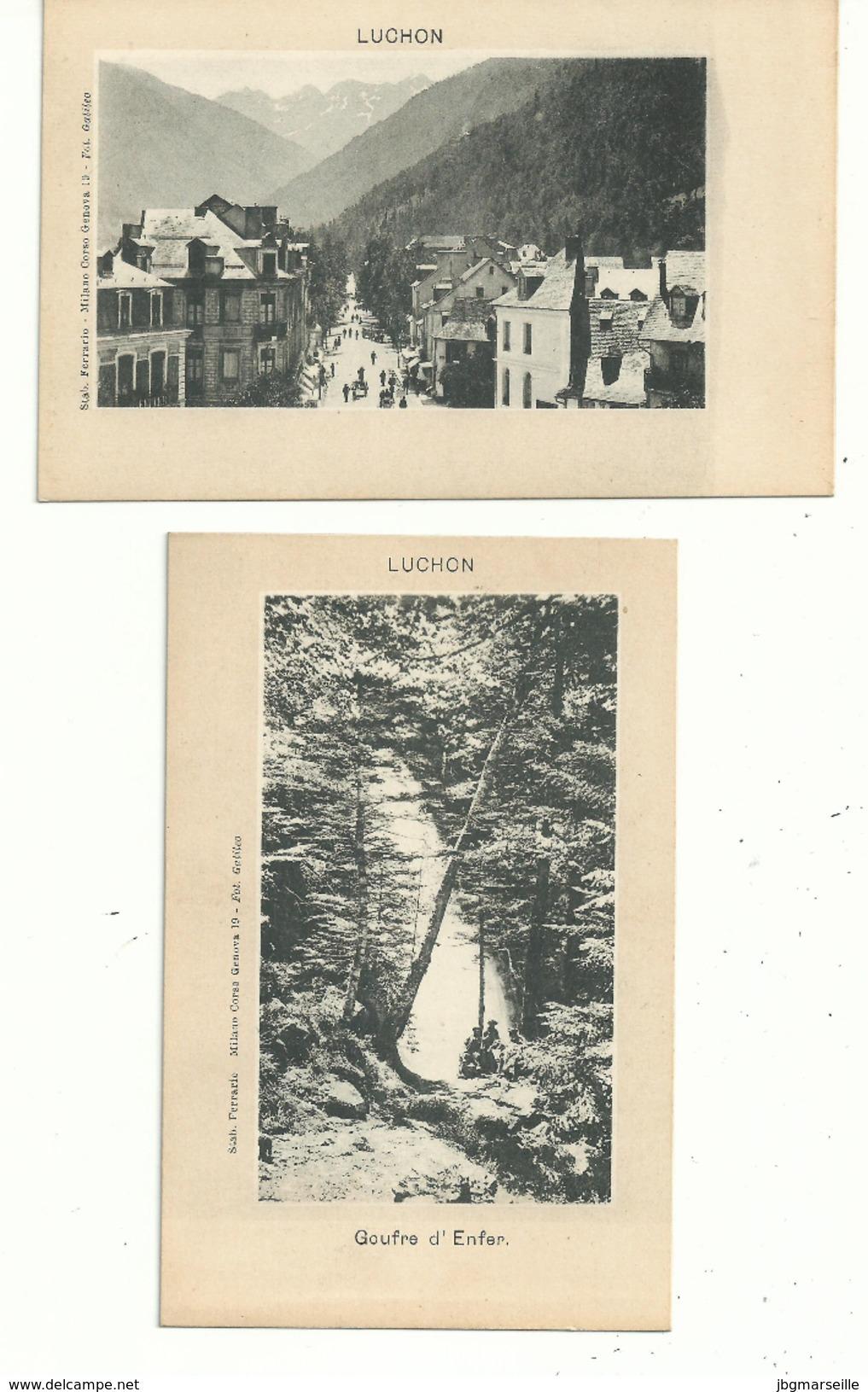 """2CP.. Précurseur """" Photo édition"""" ,neuve,dos Simple Pour Adresse...... .LUCHON ( 31 )............à Voir - Luchon"""