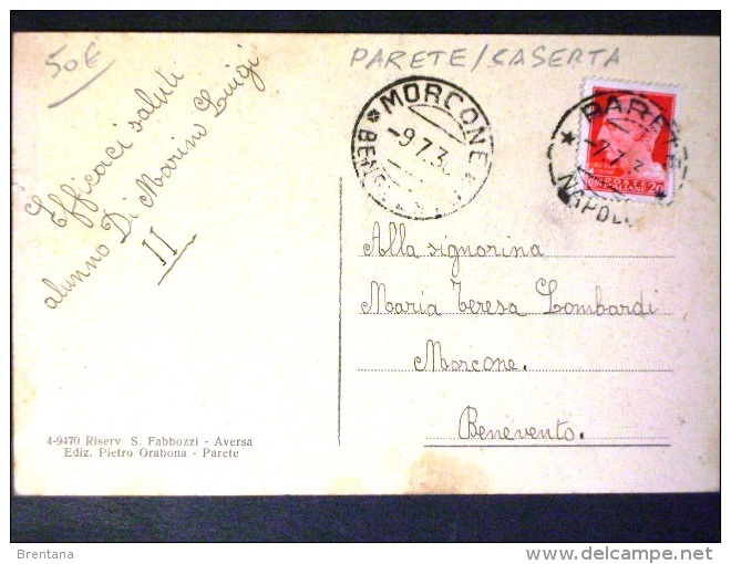 CAMPANIA -CASERTA -PARETE -F.P. LOTTO N° 580 - Caserta