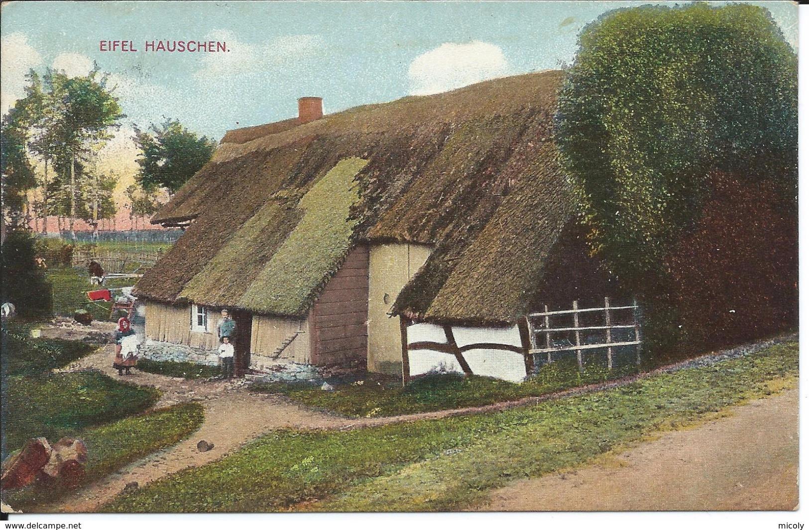 Eifel Hauschen Robertville Elsenborn Monschau - Waimes - Weismes
