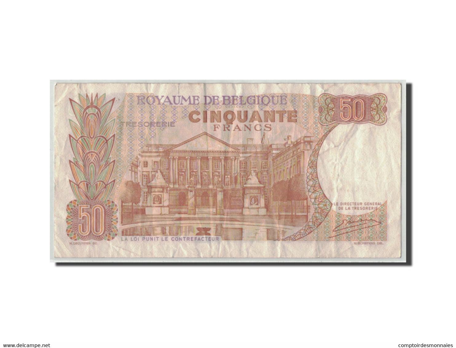 Belgique, 50 Francs, 1966, KM:139, 1966-05-16, B - [ 6] Staatskas