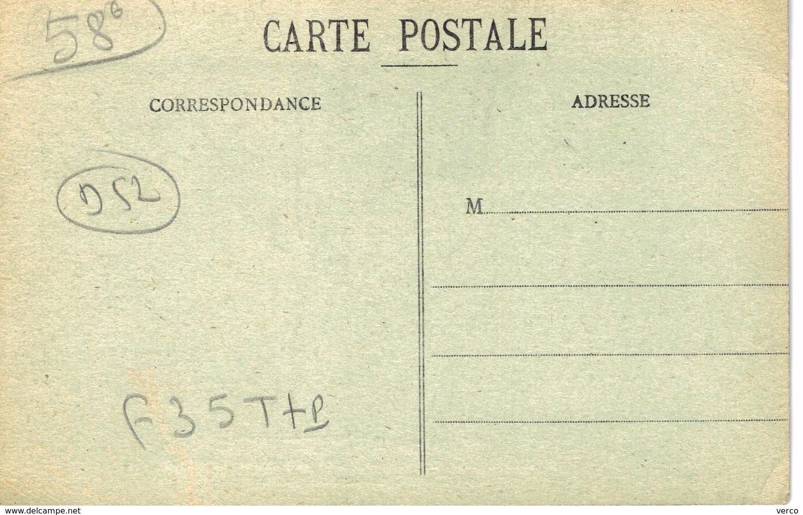 Carte Postale Ancienne De MAIZIERES - France