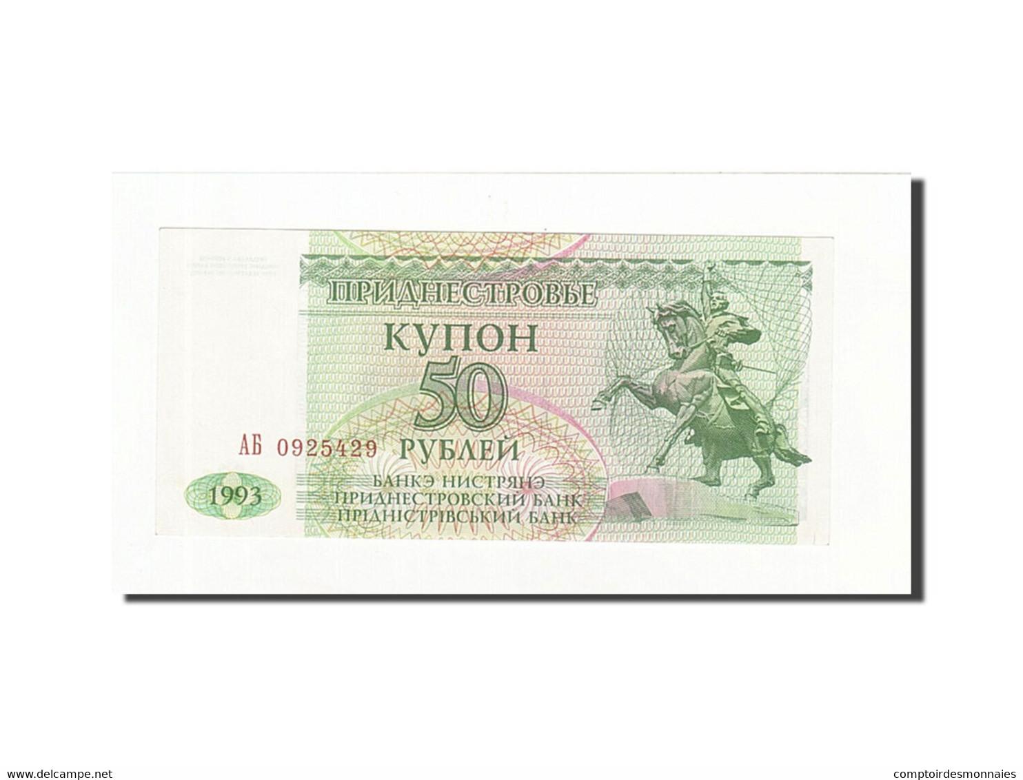 Transnistrie, 50 Rublei, 1993, KM:19, SPL - Macédoine