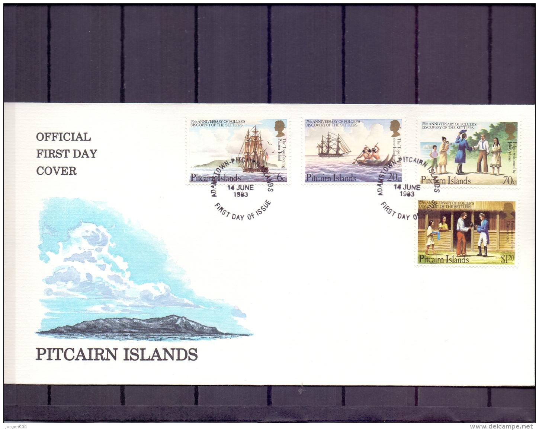 Pitcairn Islands -  FDC - 14/6/1983  (RM11942) - Bateaux