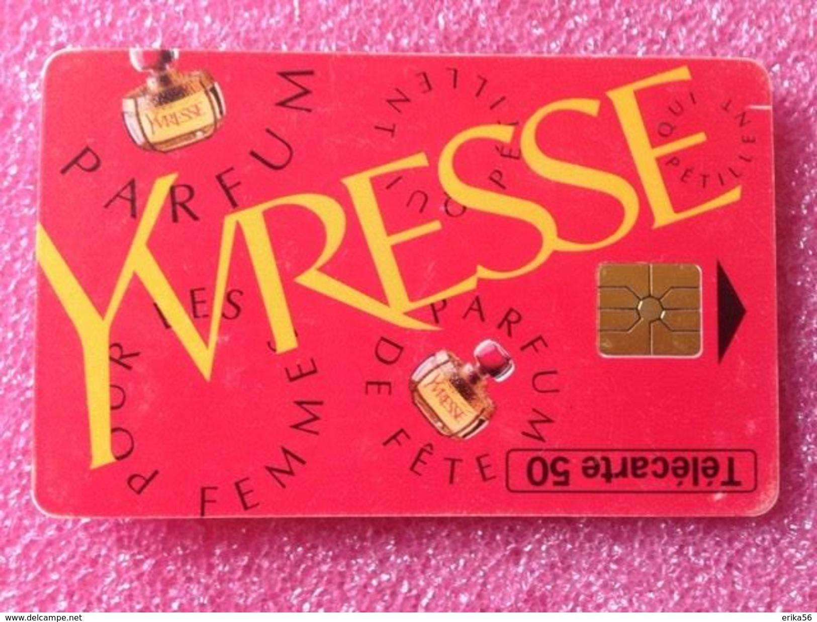 Télécartes YVRESSE De YSL - Parfum