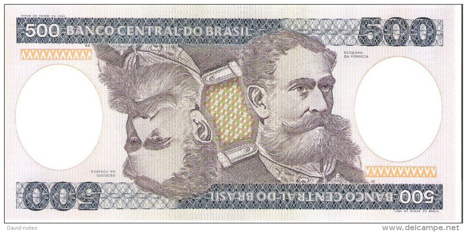 Brazil - Pick 200b - 500 Cruzeiros 1985 - Unc - Brésil