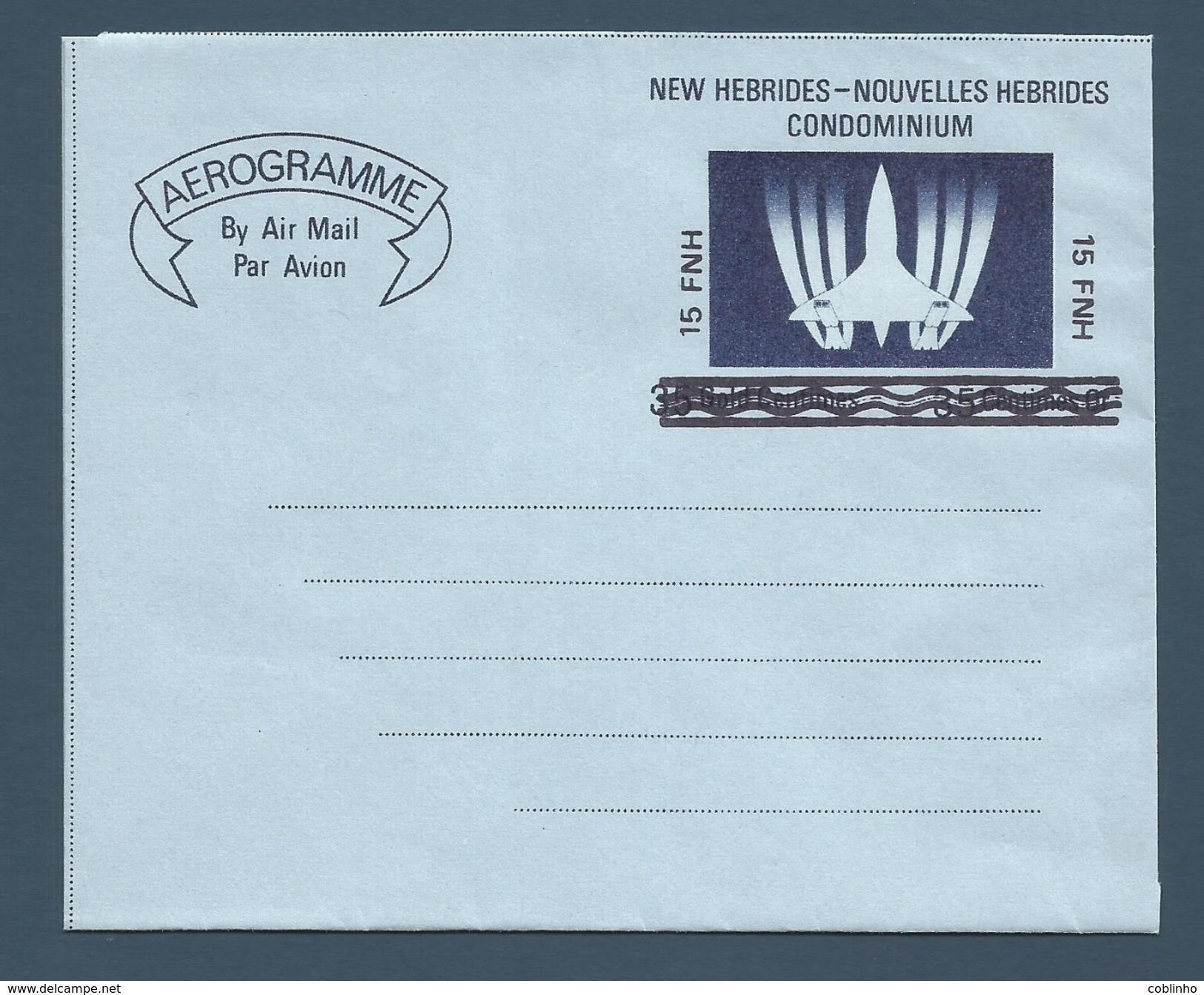 NOUVELLES HEBRIDES (New Hebrides) - Aérogramme - AER 2 - Neuf / Mint - 1977 - New Hebrides