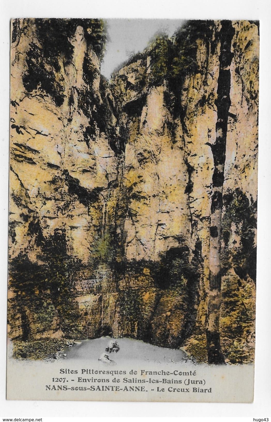 NANS SOUS SAINTE ANNE - N° 1207 - LE CREUX BIARD - CPA NON VOYAGEE - Frankrijk