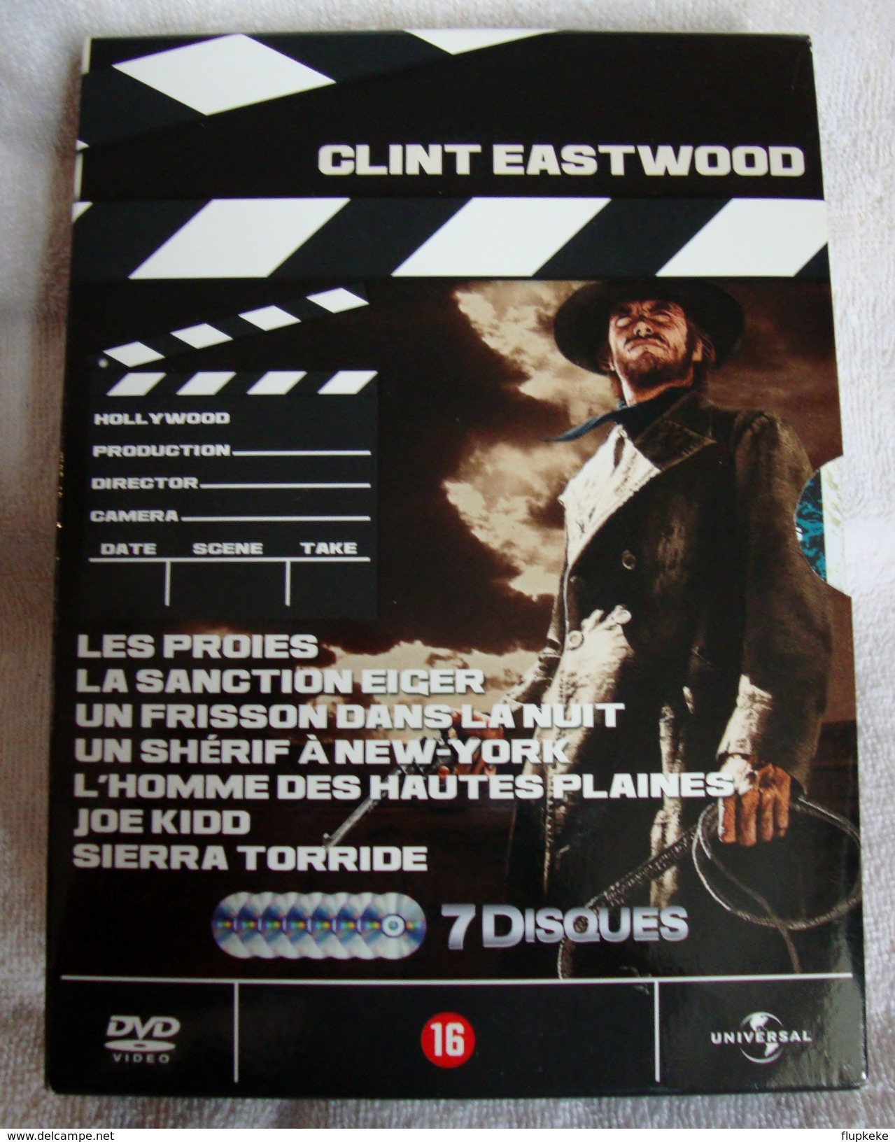 Dvd Zone 2 Clint Eastwood - Coffret 7 DVD Vf+Vostfr - Azione, Avventura