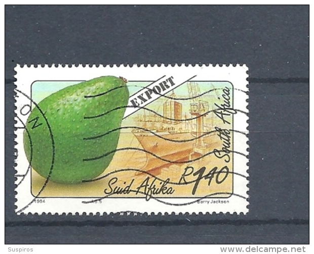 SUD AFRICA  -1994 Export Fruits     USED    Persea Americana  -Alligator Pear, Avocato, Ahuacate, Adpukat, Aguacate, - Used Stamps