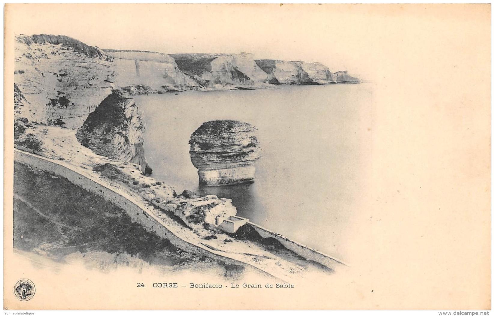 20 - CORSE - BONIFACIO - Cliché Précurseur - Grain De Sable - Autres Communes
