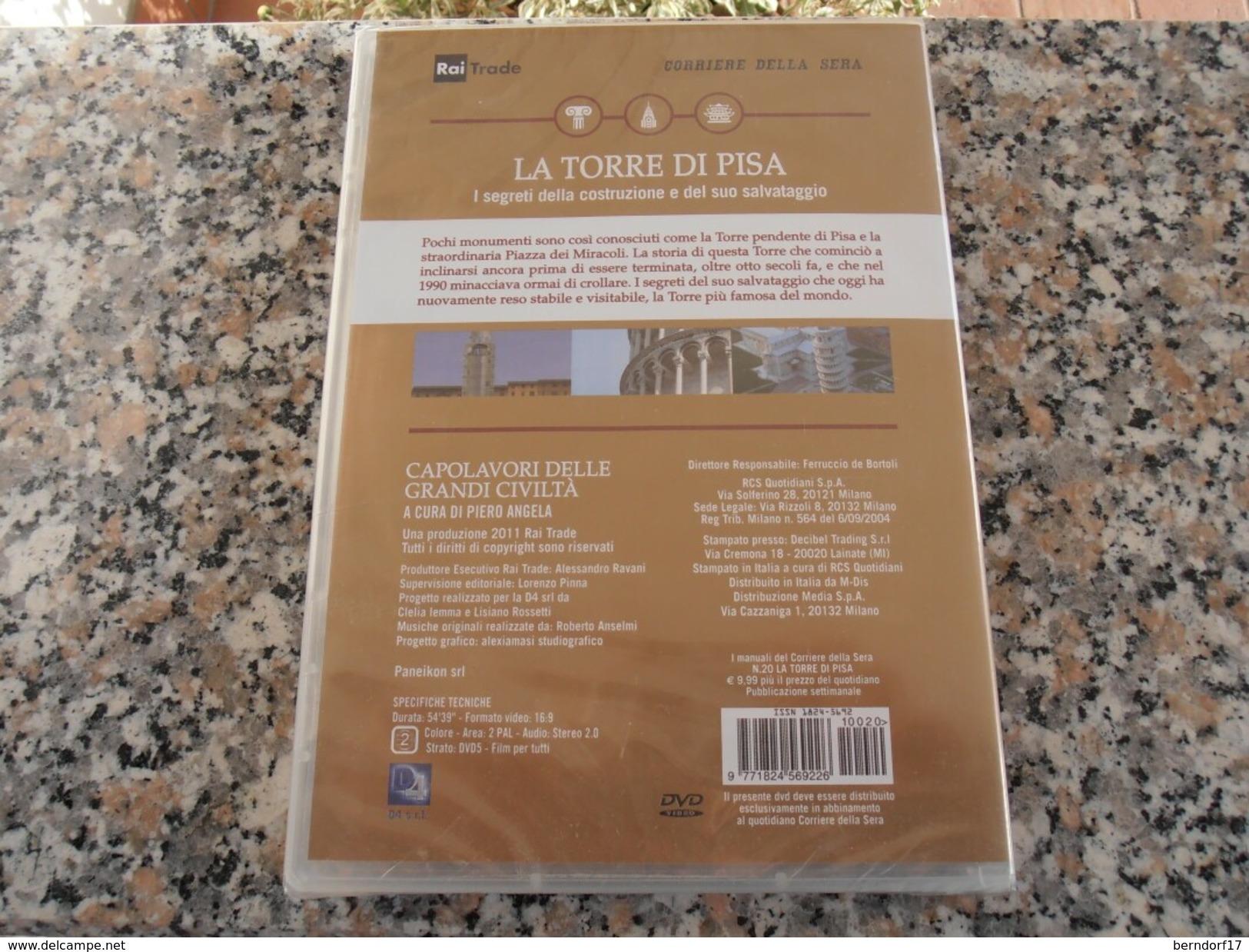 La Torre Di Pisa -  DVD - Documentari