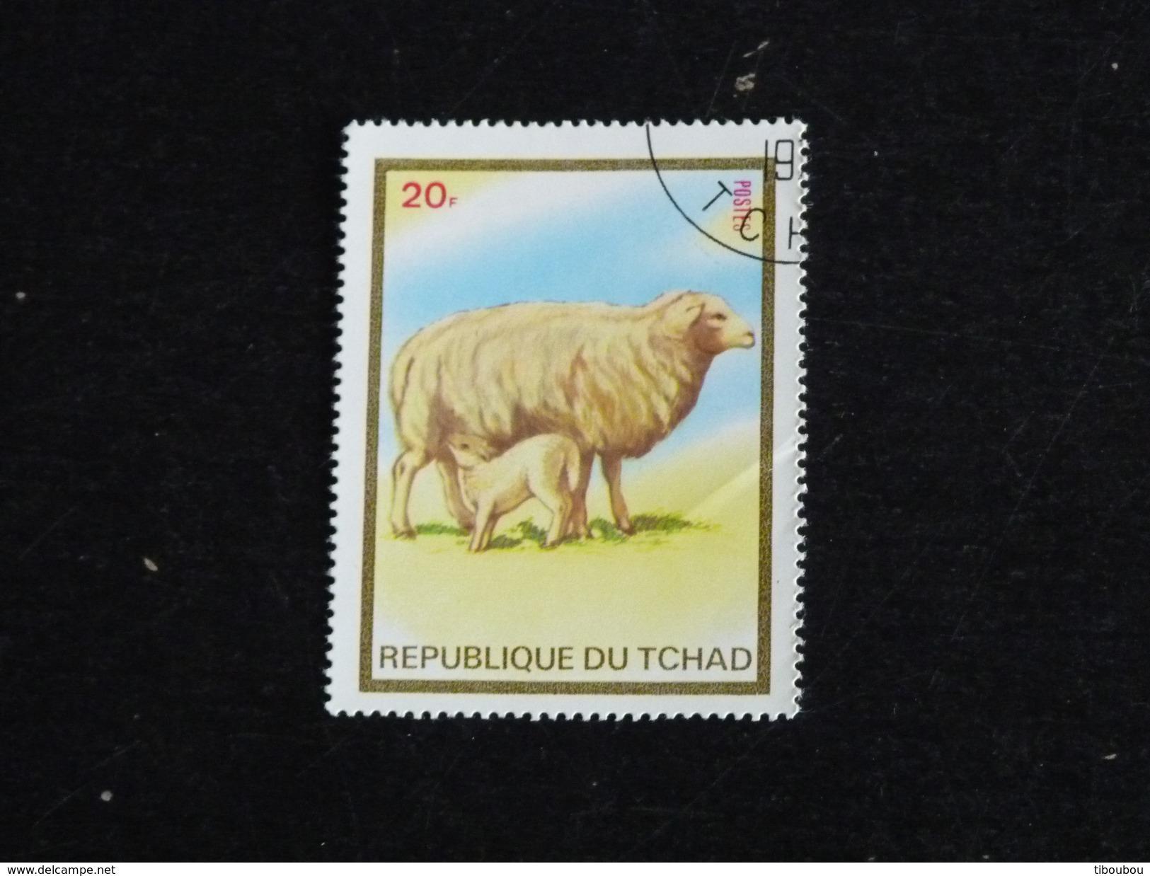 TCHAD YT 290C OBLITERE - BREBIS MOUTON - Tchad (1960-...)