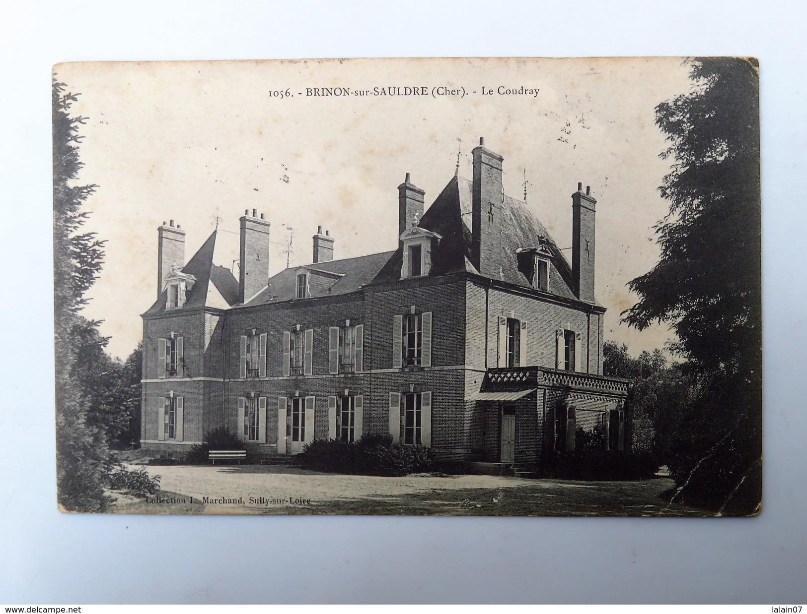 C.P.A. 18 BRINON-SUR-SAULDRE : Le Coudray, En 1911 - Brinon-sur-Sauldre
