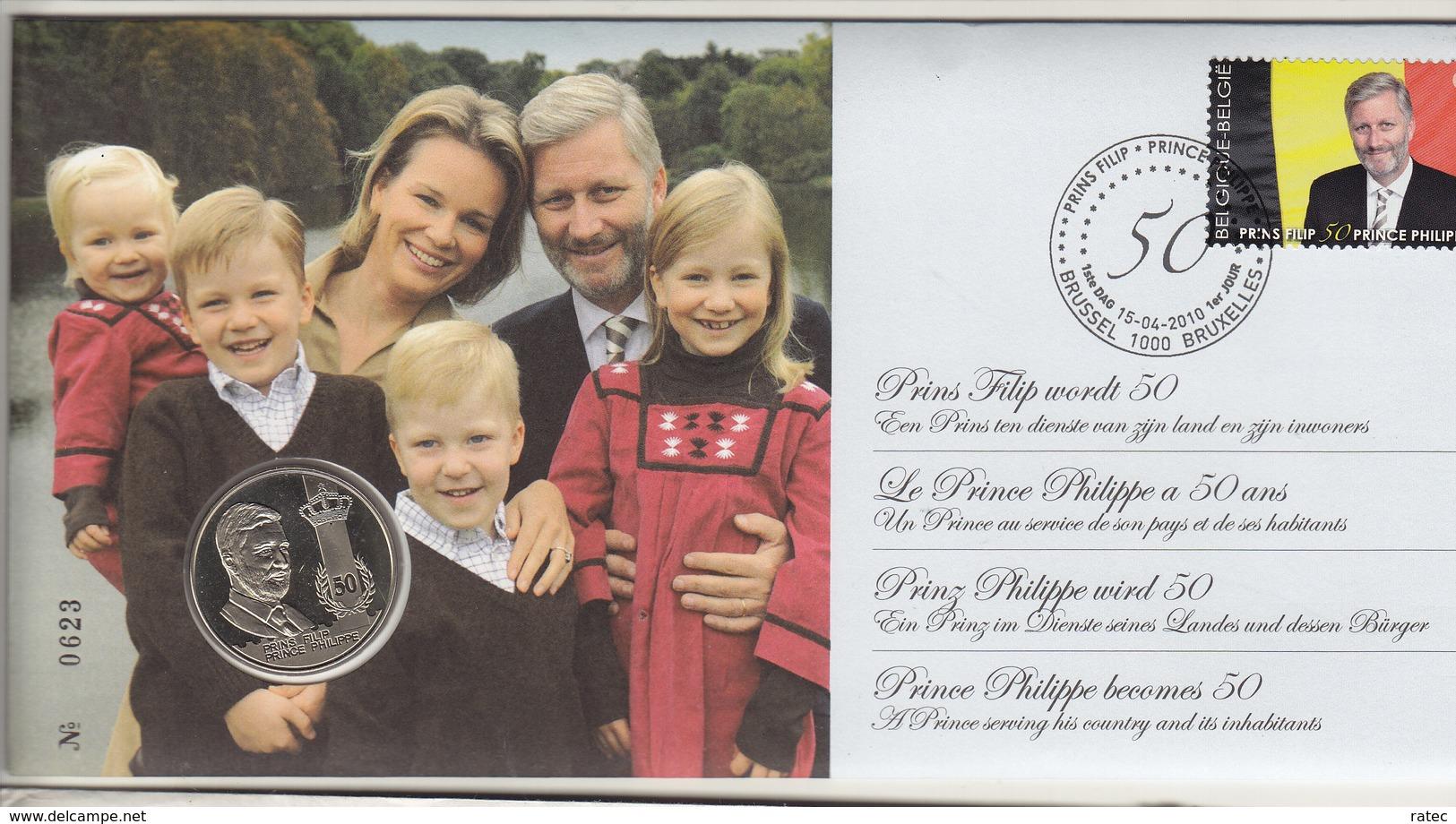 Prins Filip 50 Jaar - Belgique