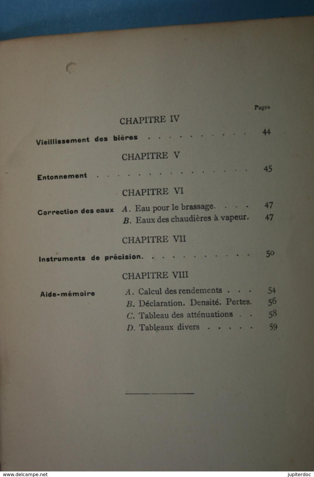 Guide Du Brasseur G.Ronnberg & Cie 1909 - Bricolage / Technique