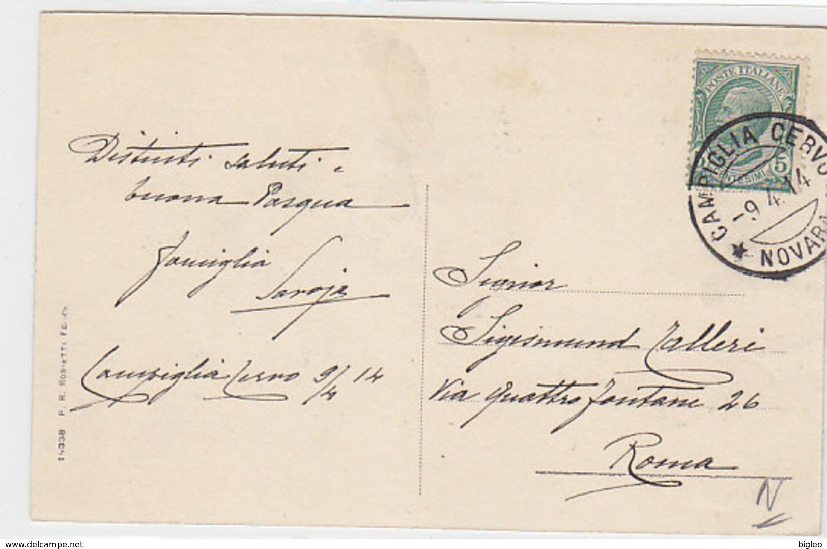 Saluti Da Campiglia Cerva - 1914     (A-21-100617) - Italia