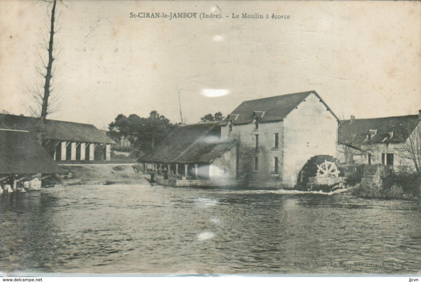 Saint Ciran Le Jambot - Le Moulin à Ecorce (jamais Vue Sur Delcampe) - Autres Communes