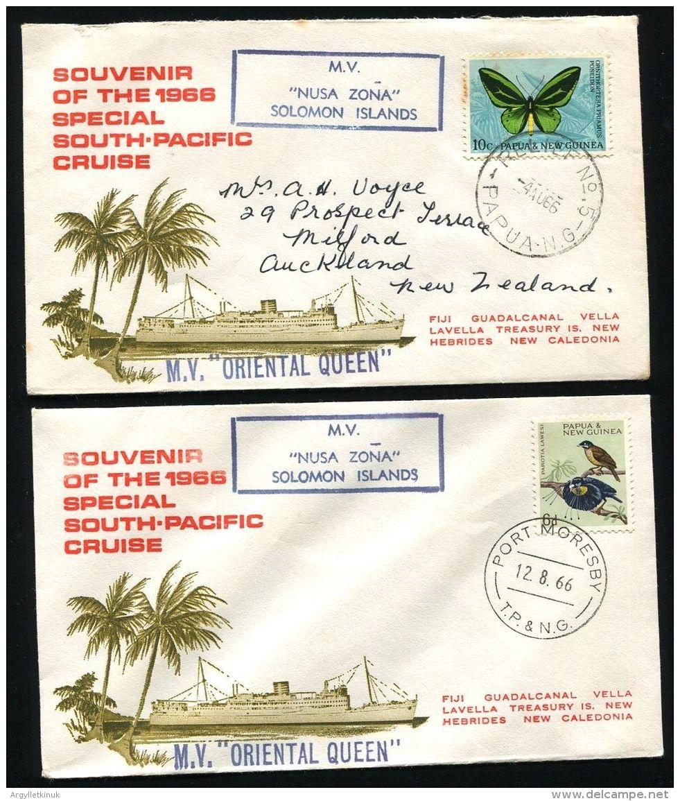 PAPUA NEW GUINEA SHIP MAIL COLLECTION BOUGAINVILLE SOLOMON ISLANDS MISSIONARY - Papua New Guinea