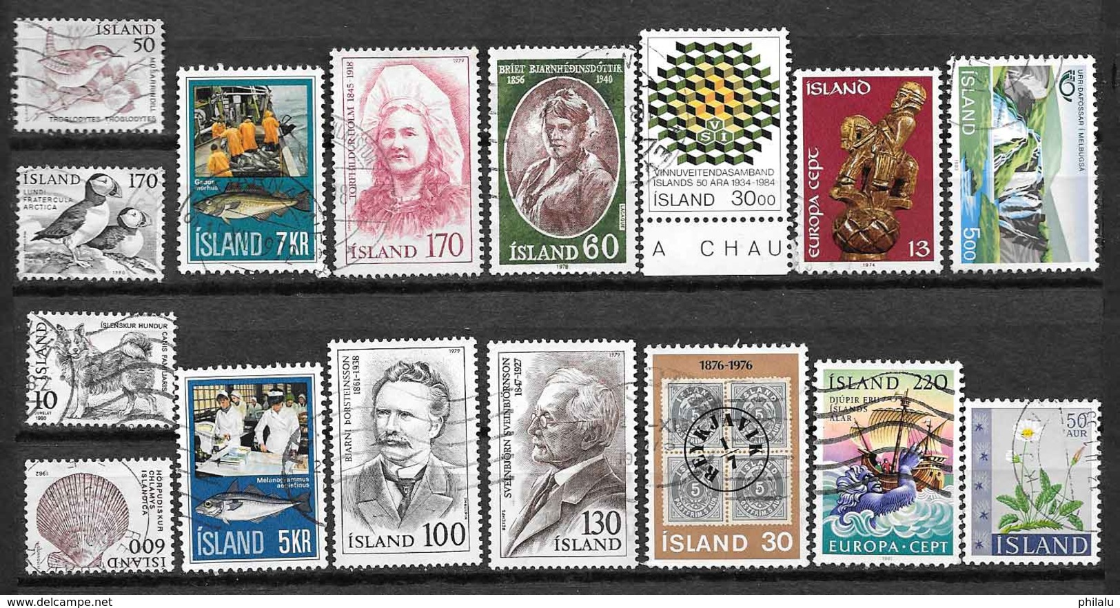 ISLANDE Lot De Timbres Oblitérés - Islande