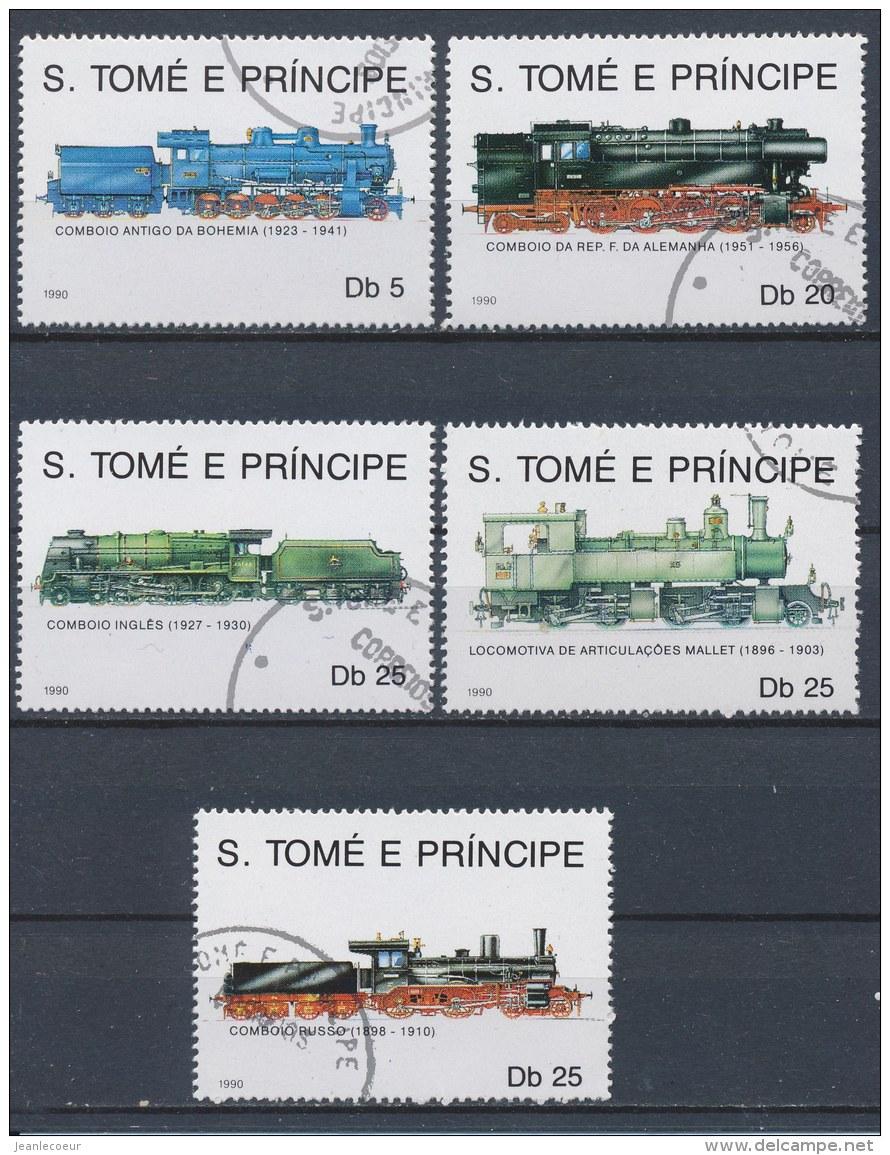 Sao Tomé E Principe 1990 Mi: 1170-1174 (Gebr/used/obl/o)(1431) - Sao Tome En Principe