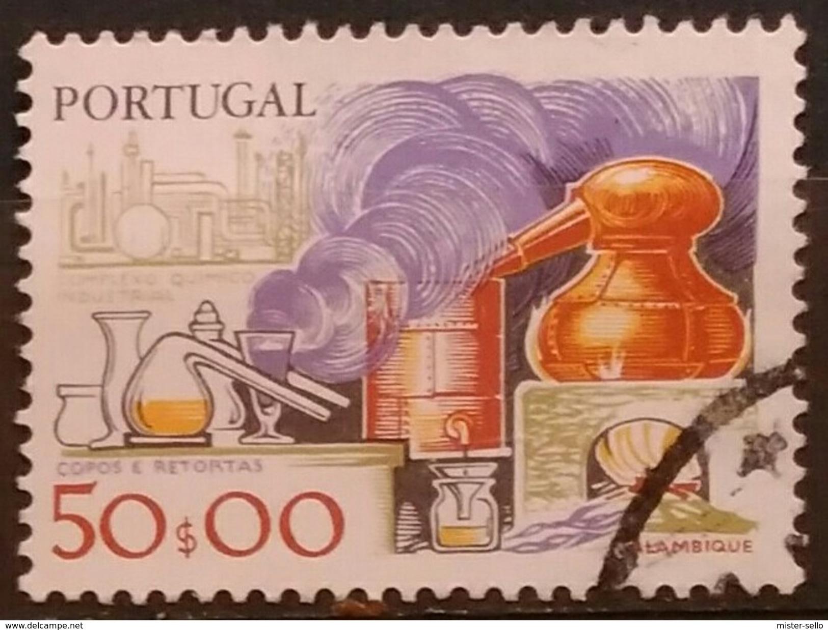 PORTUGAL 1980 Development Of Working Tools. USADO - USED. - 1910-... République