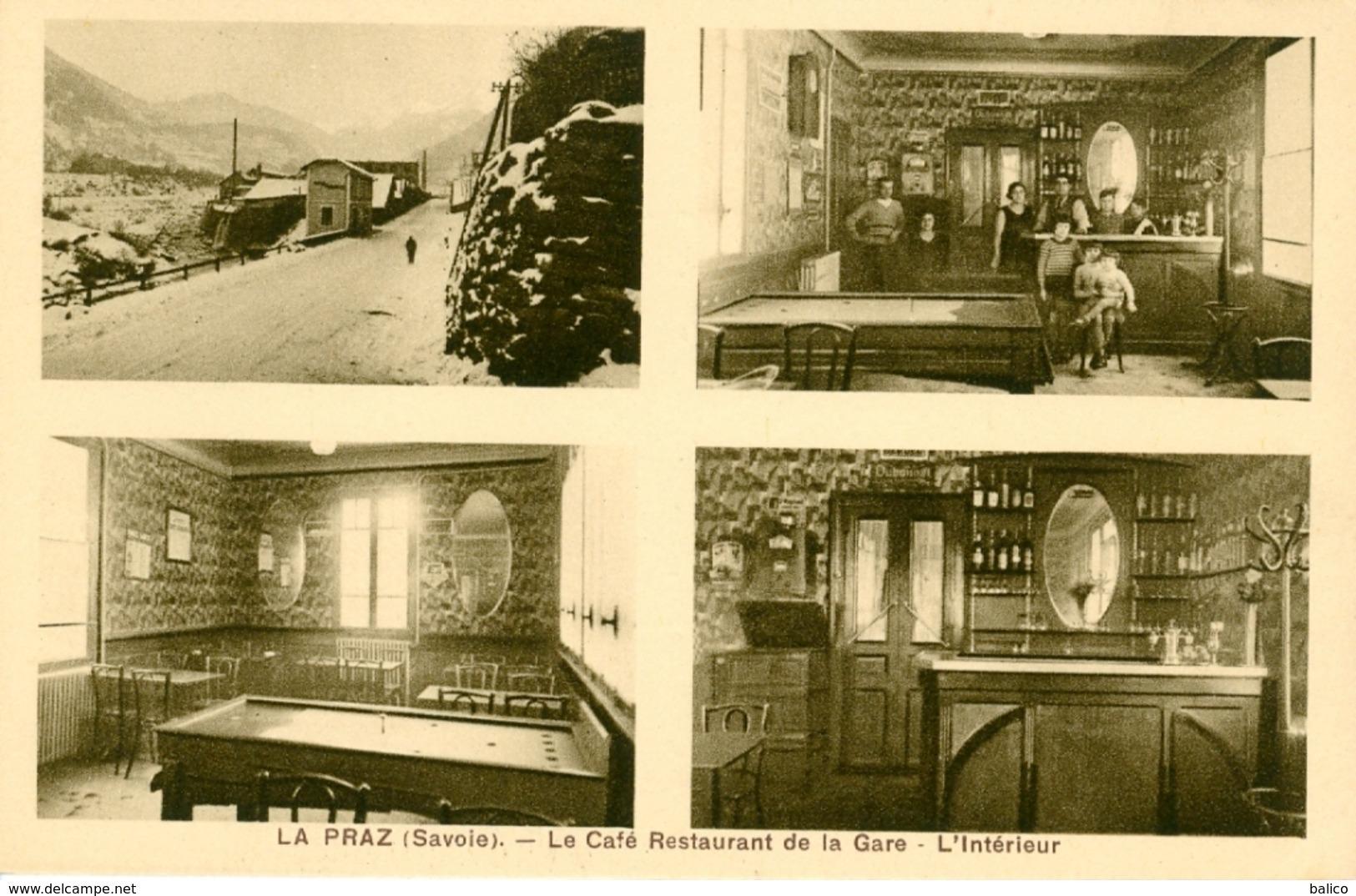 Savoie, La Praz   Le Café Restaurant De La Gare - Courchevel