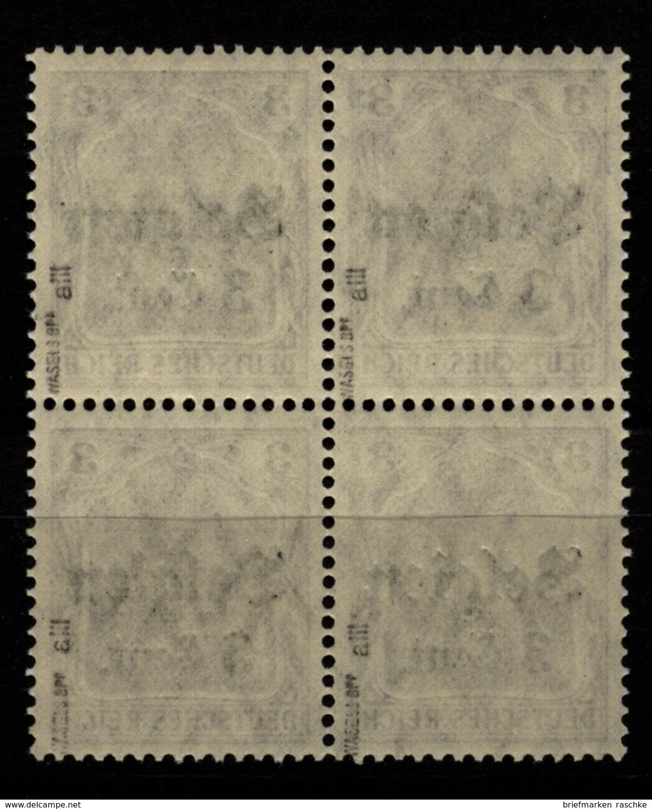 Belgien,11aIII,VB,xx,gep. - Besetzungen 1914-18