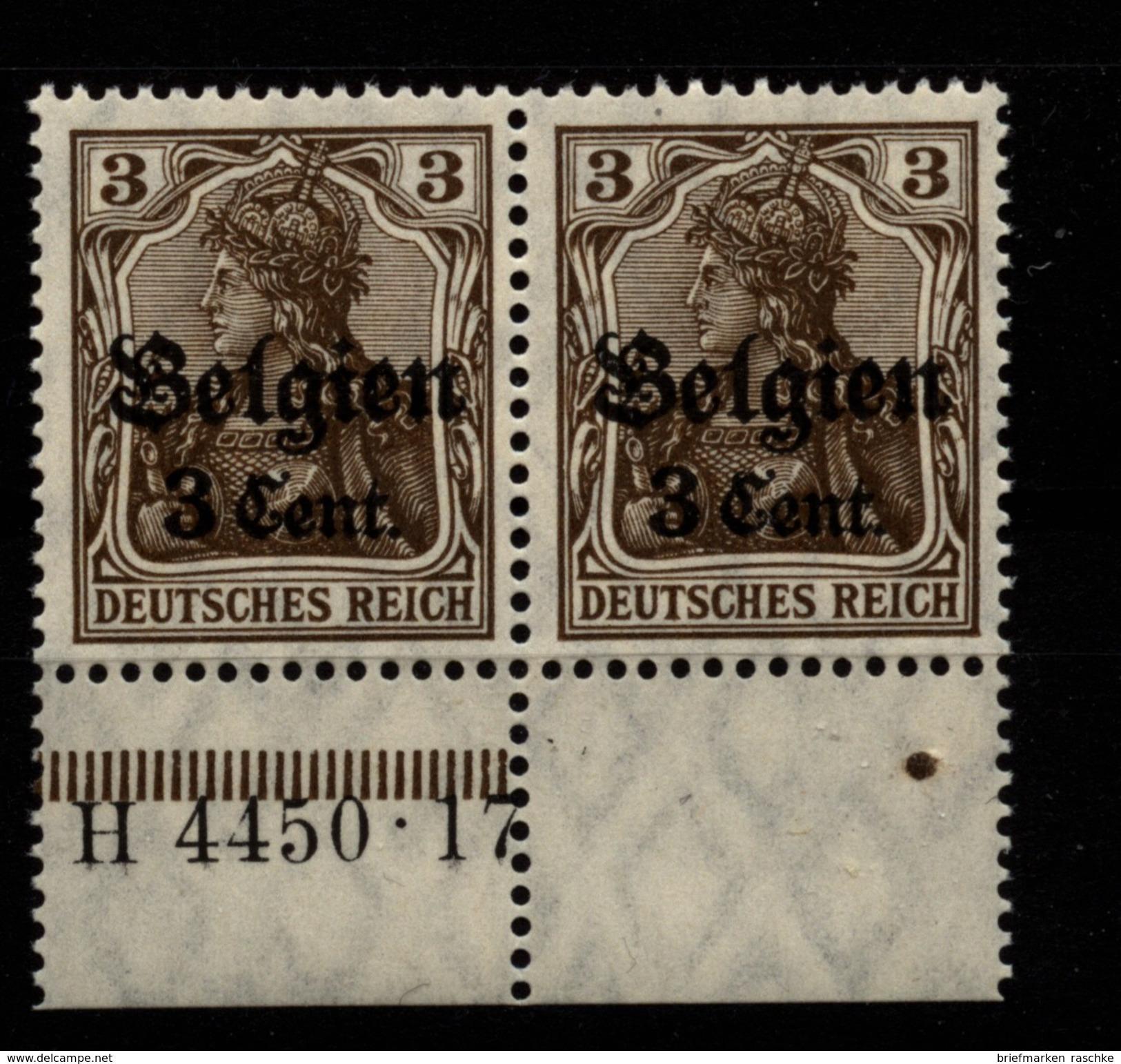 Belgien,11aI,4450.17,xx - Besetzungen 1914-18